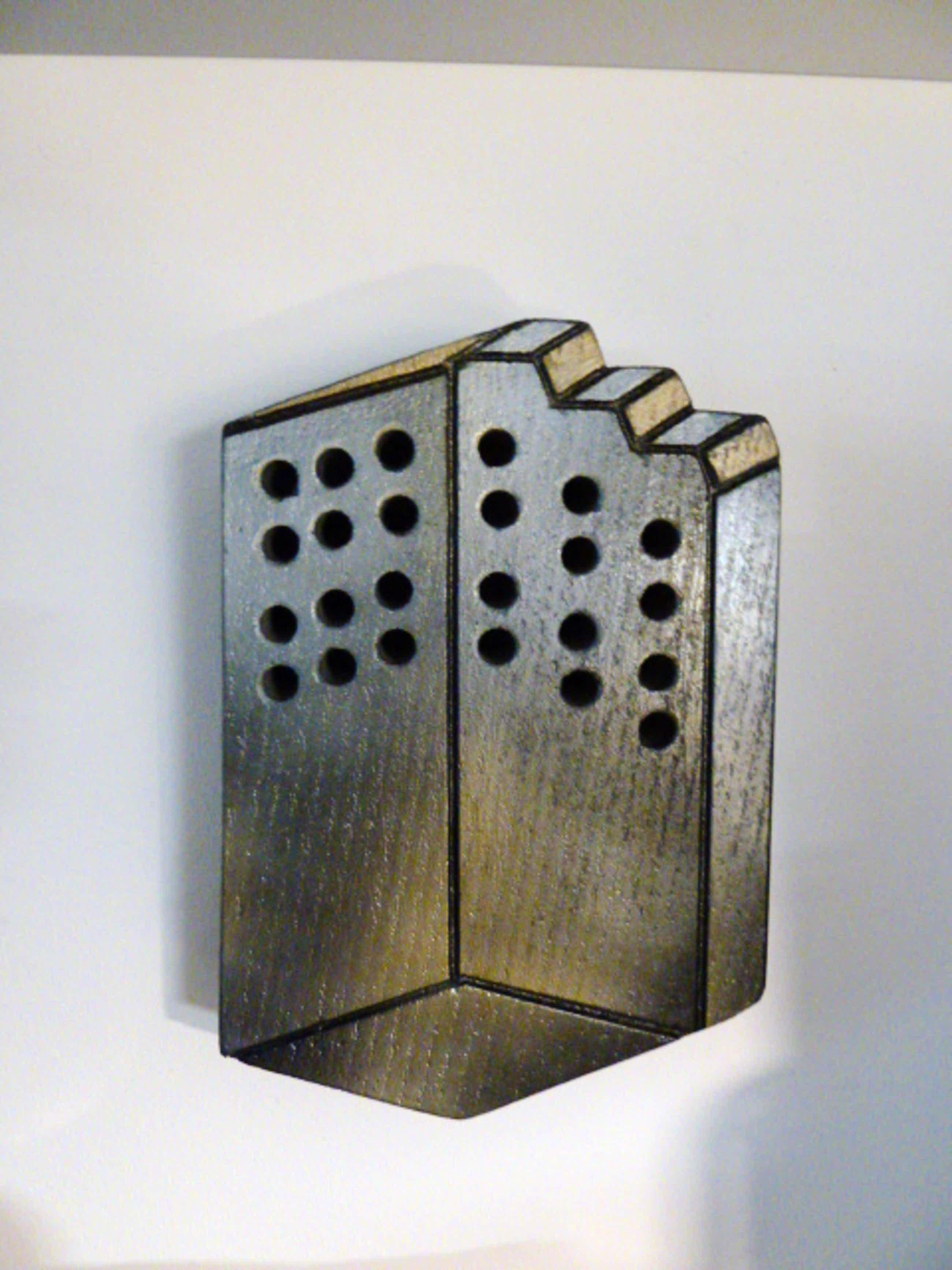 Niet of onleesbaar gesigneerd - Trompe-l'oeil (stenen wand object) kopen? Bied vanaf 30!