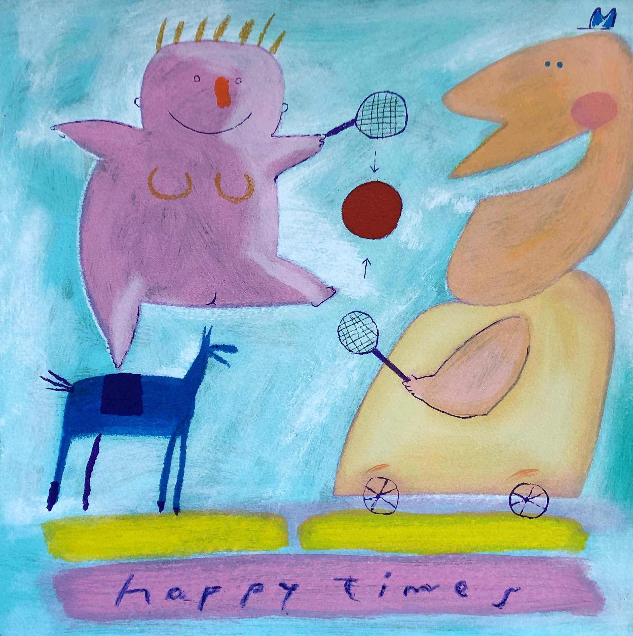 Wouter Stips - happy times kopen? Bied vanaf 35!