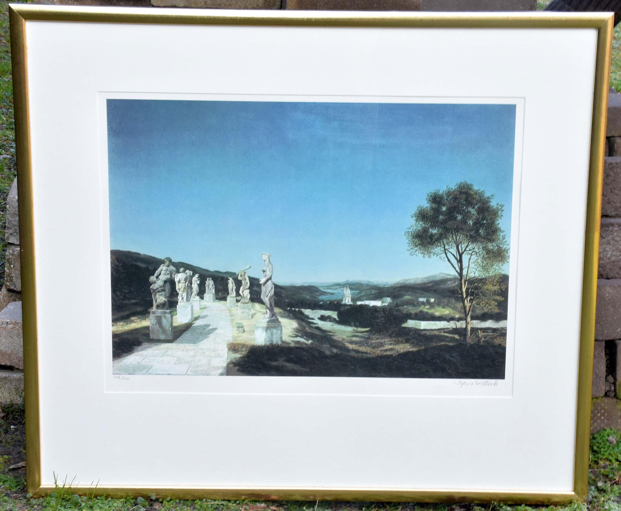 Carel Willink - Landschap met zeven beelden kopen? Bied vanaf 160!