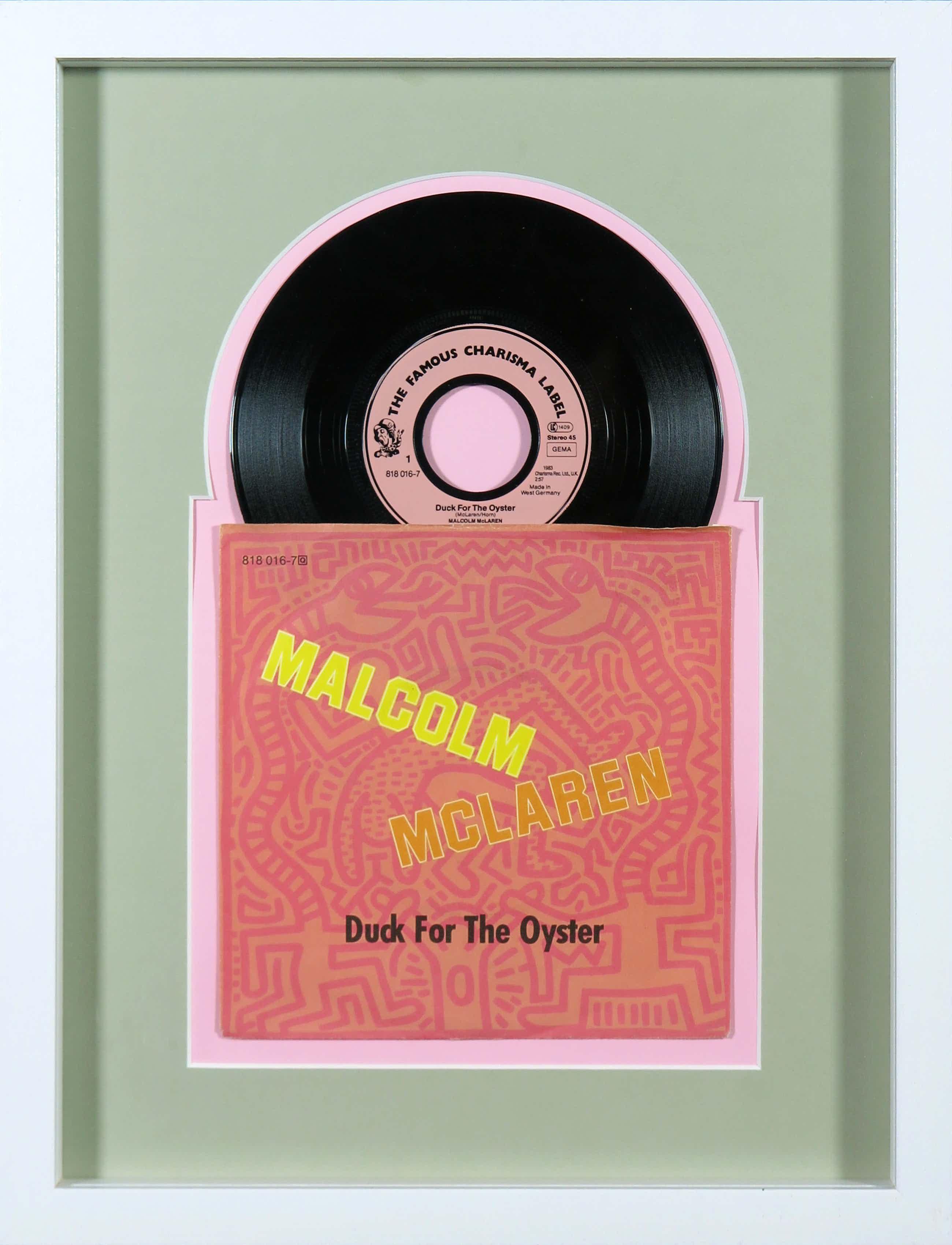 Keith Haring - Malcolm McLaren - Duck for the Oyster - Ingelijst kopen? Bied vanaf 40!