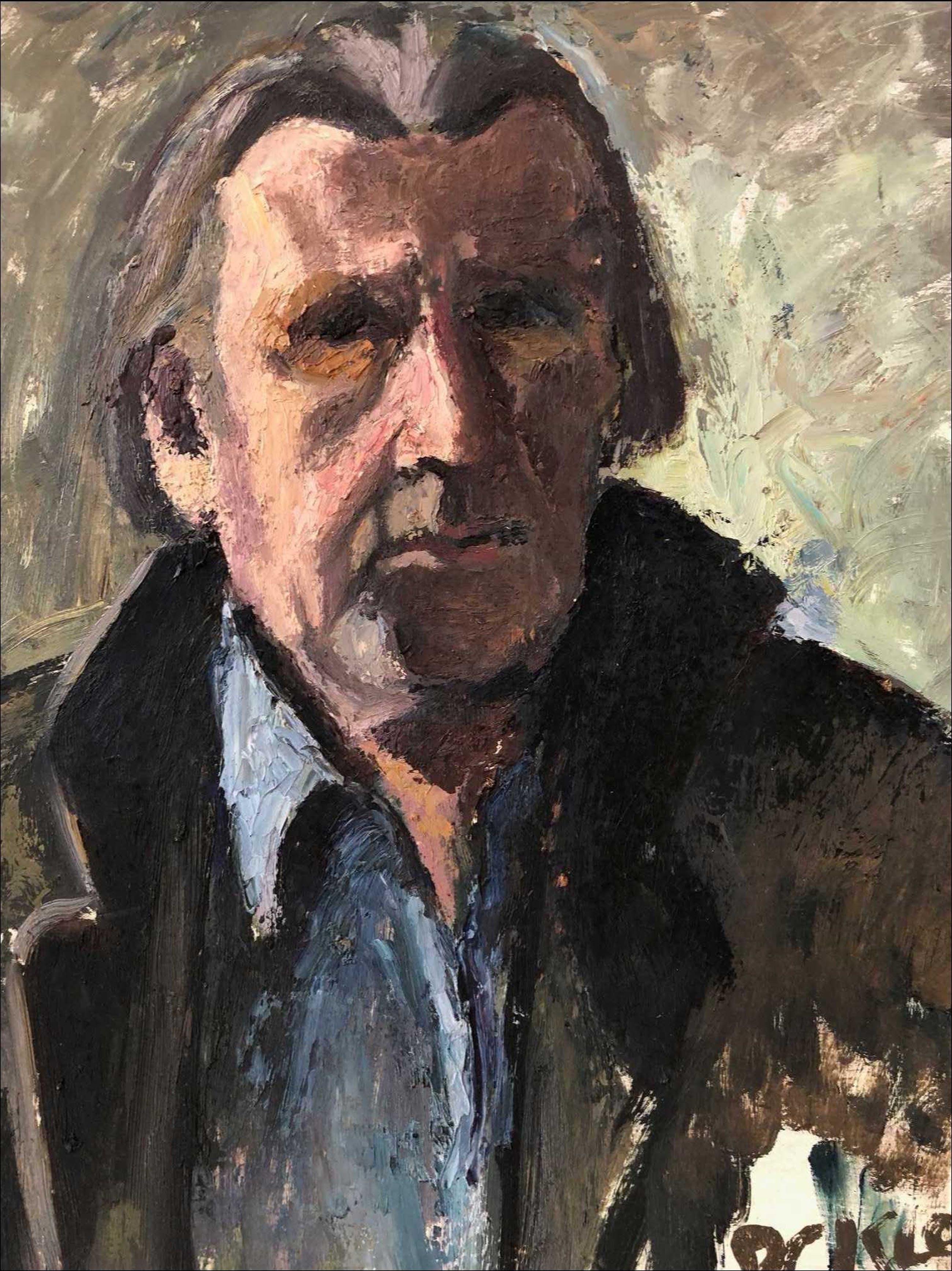 Piet Kloes - Zelfportret kopen? Bied vanaf 1!