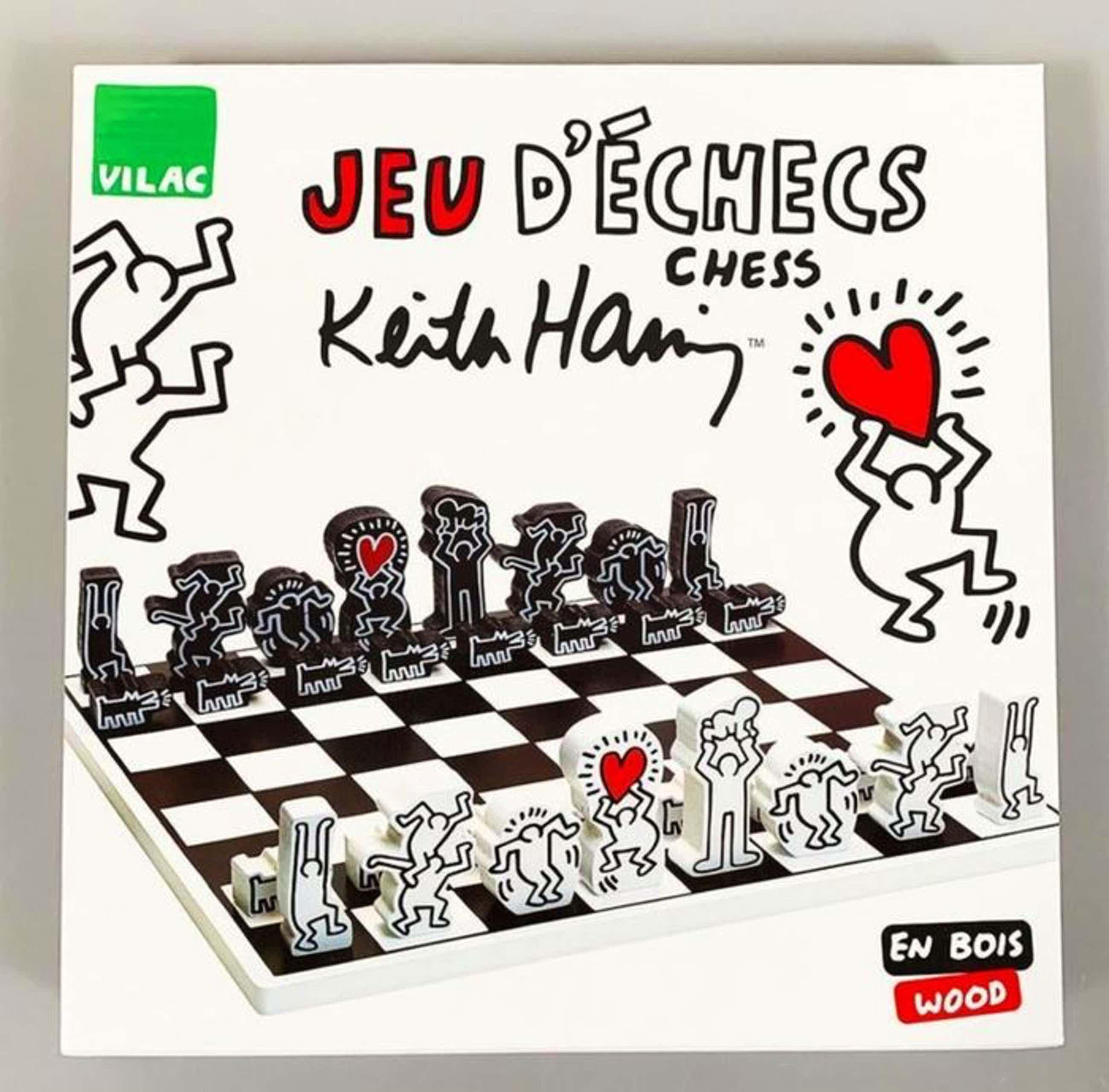 Keith Haring - schaakspel / chess set kopen? Bied vanaf 105!