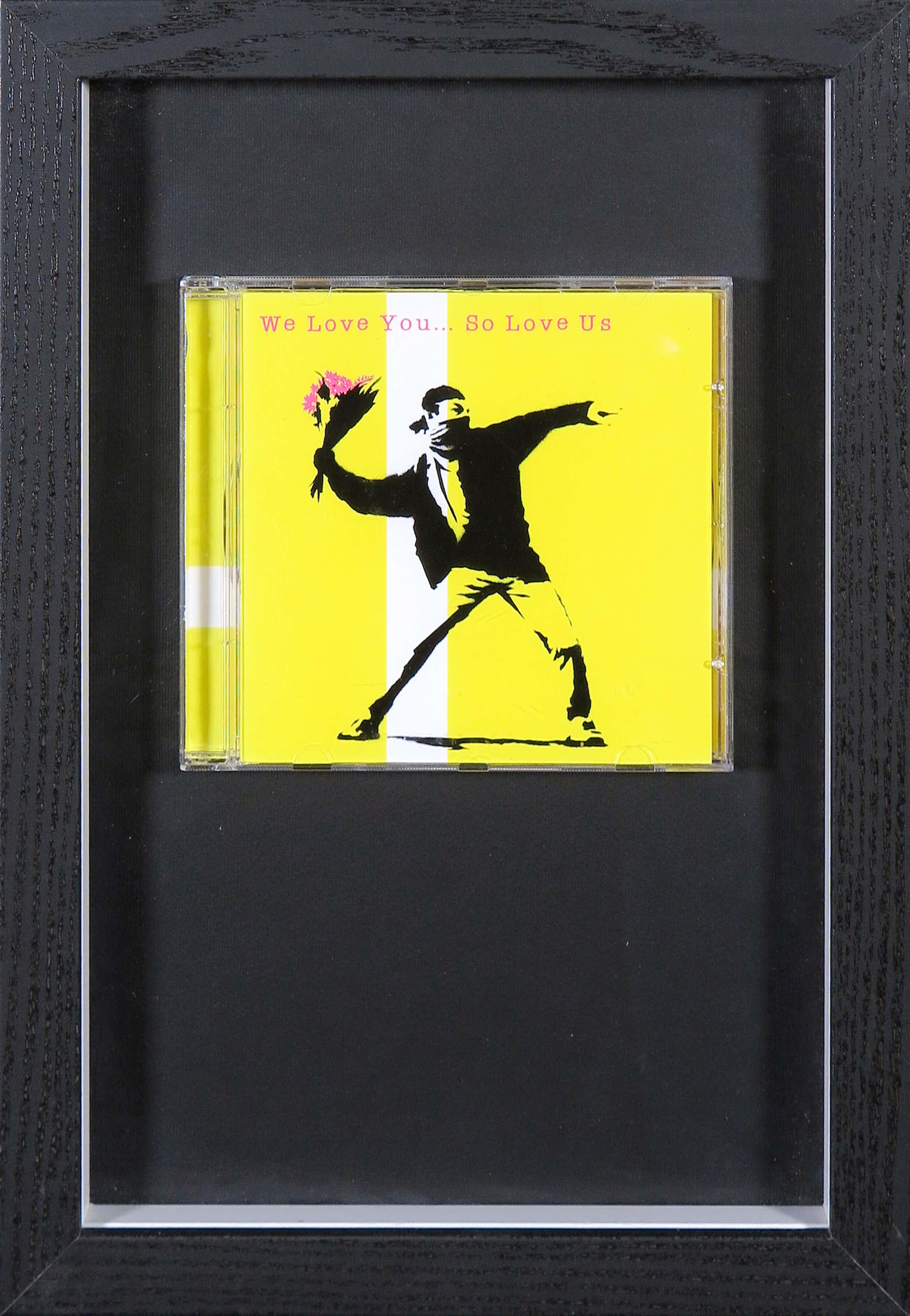 Banksy - We love you... so love us (CD) kopen? Bied vanaf 123!