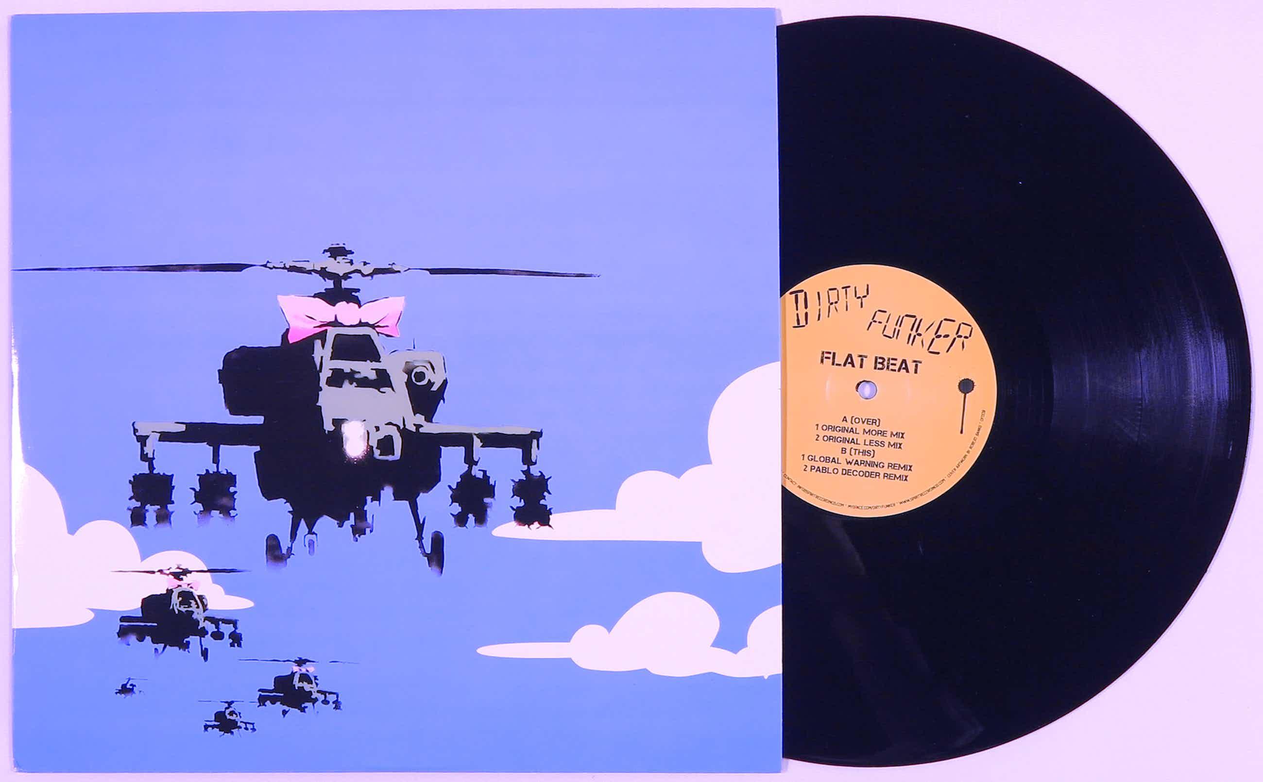 Banksy - Dirty Funker - Flat Beat kopen? Bied vanaf 1100!
