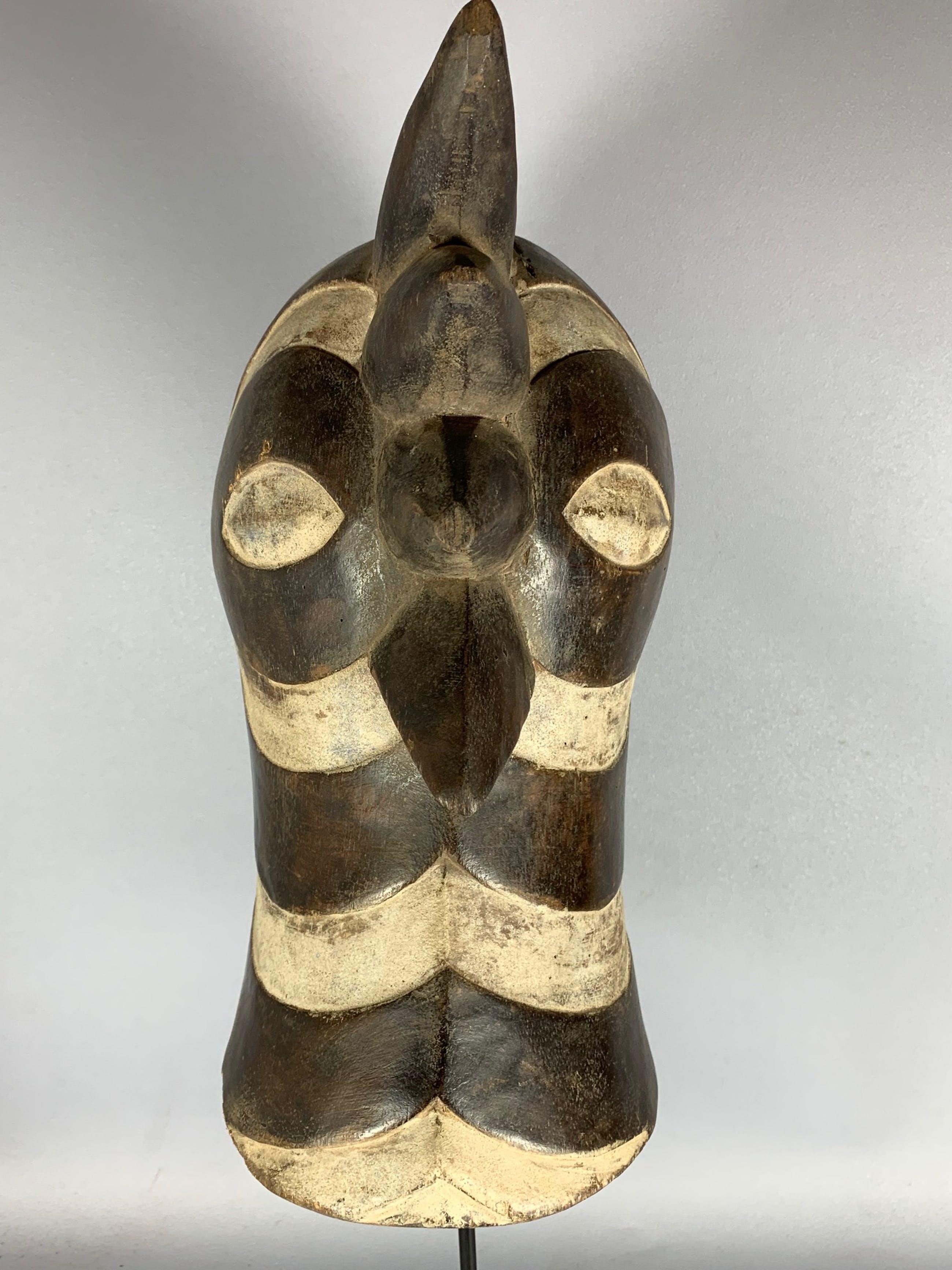 Songye - 210137 - African Songye bird mask - Congo. kopen? Bied vanaf 45!