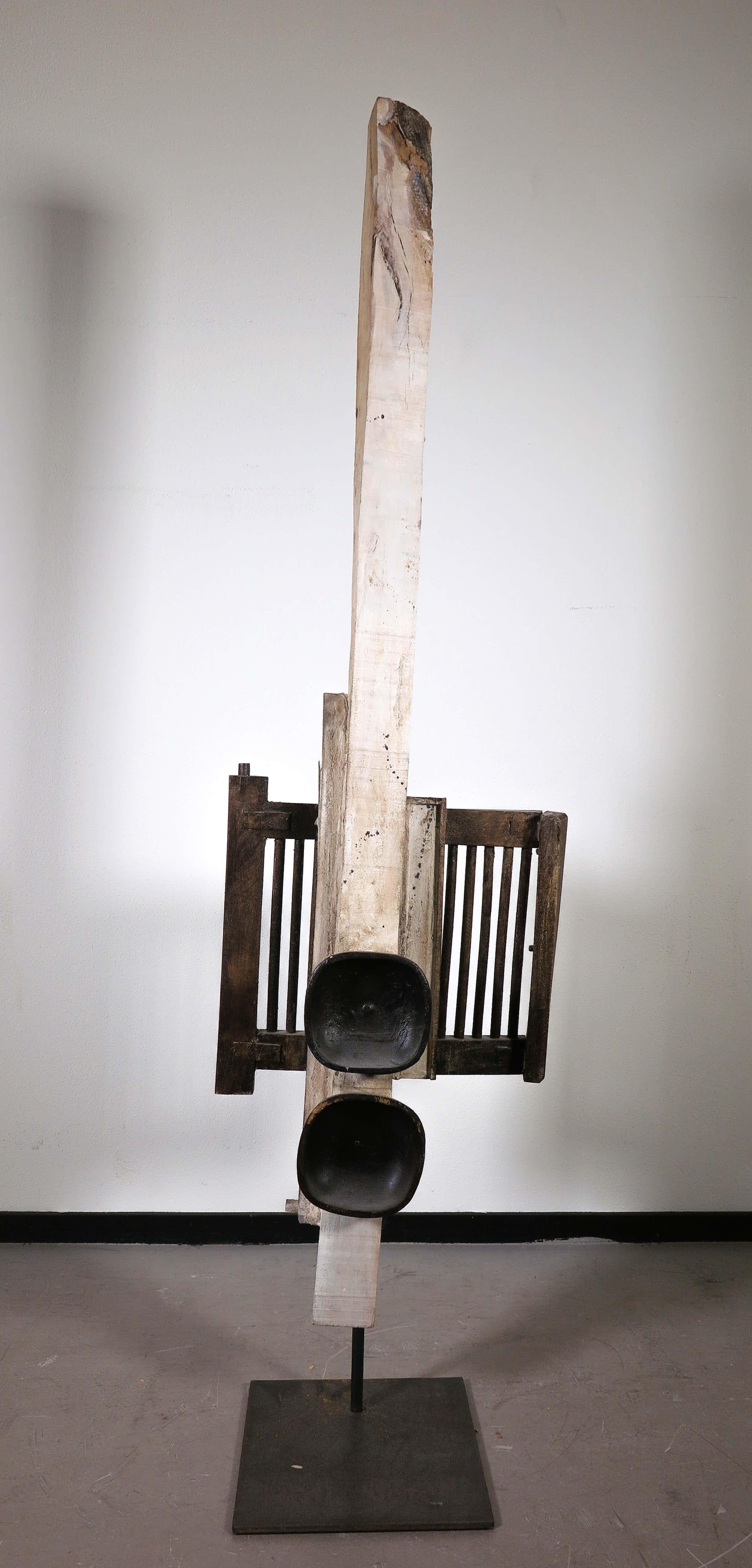 Ron van der Werf - Beeld in gemengde techniek, Zonder titel (Zeer groot) kopen? Bied vanaf 170!