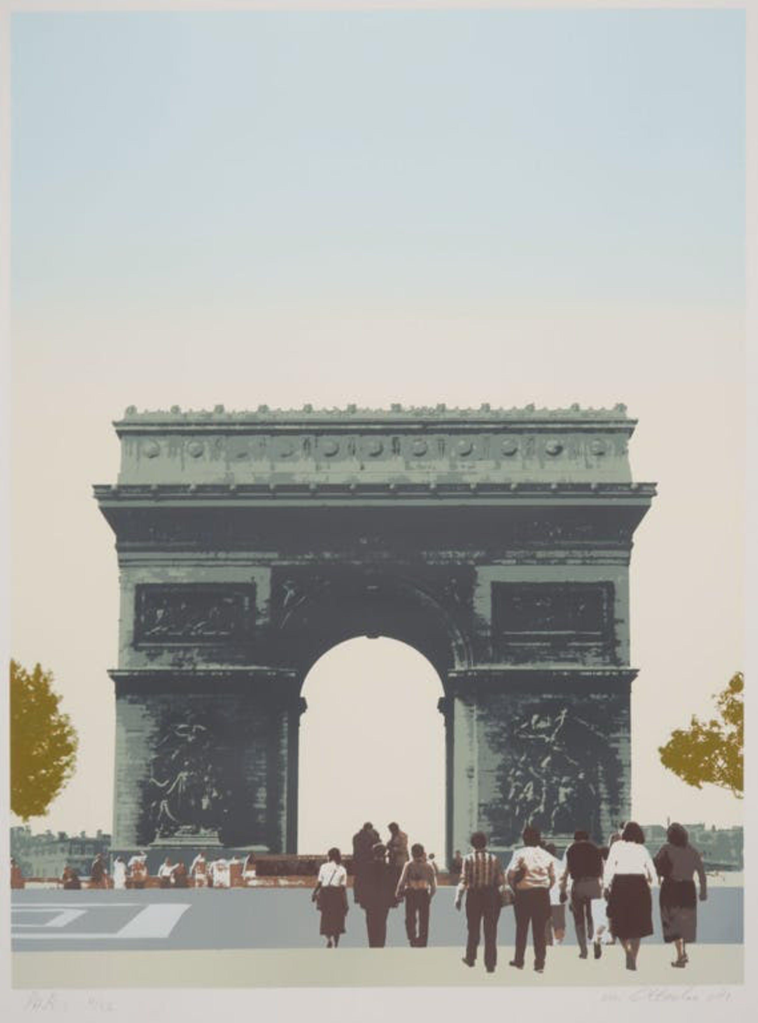 Ad van Otterloo - Ad van Otterloo: Zeefdruk, Paris kopen? Bied vanaf 1!