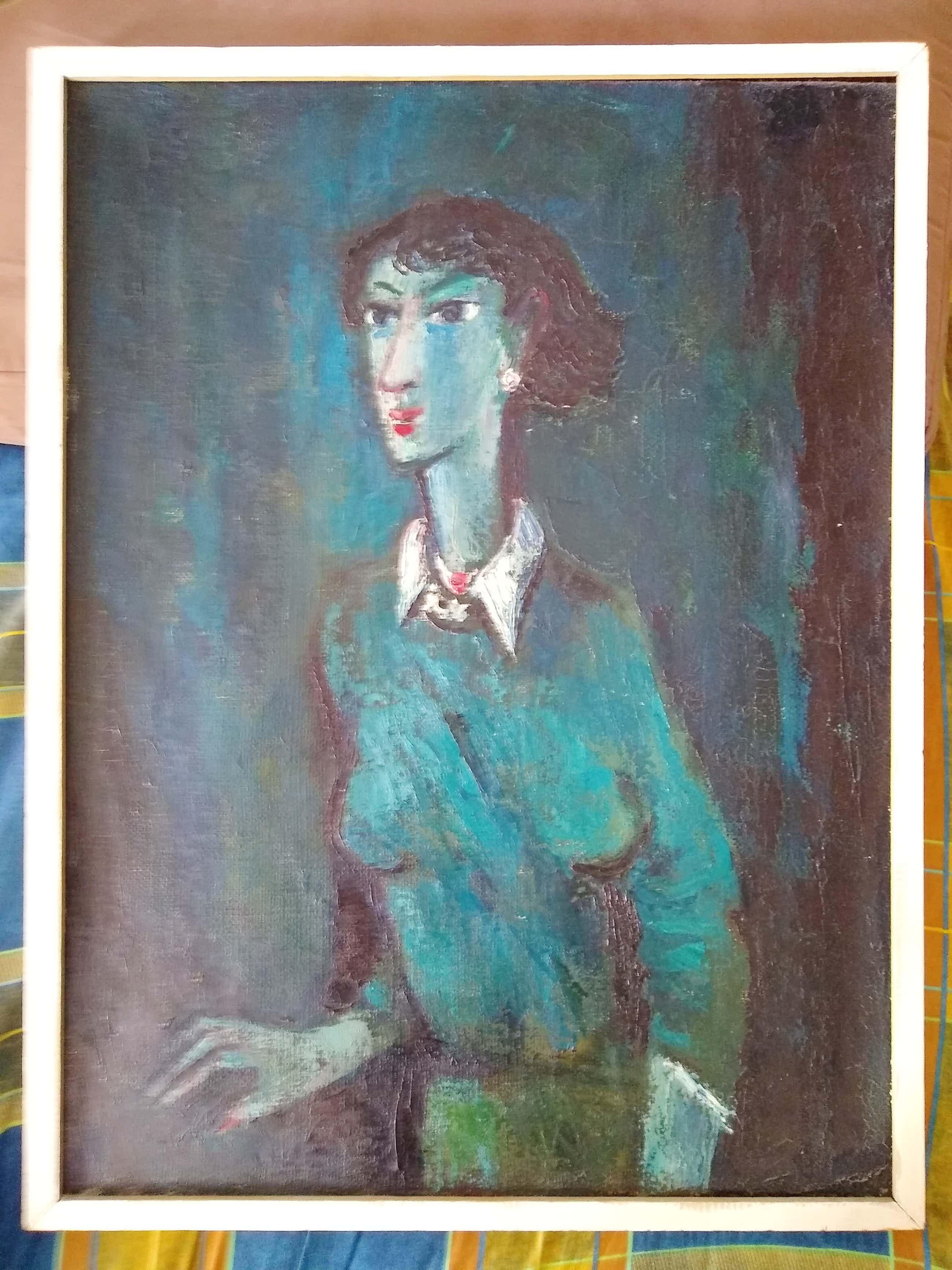 Theo van der Horst - (1921-2003) Portret van een vrouw kopen? Bied vanaf 150!
