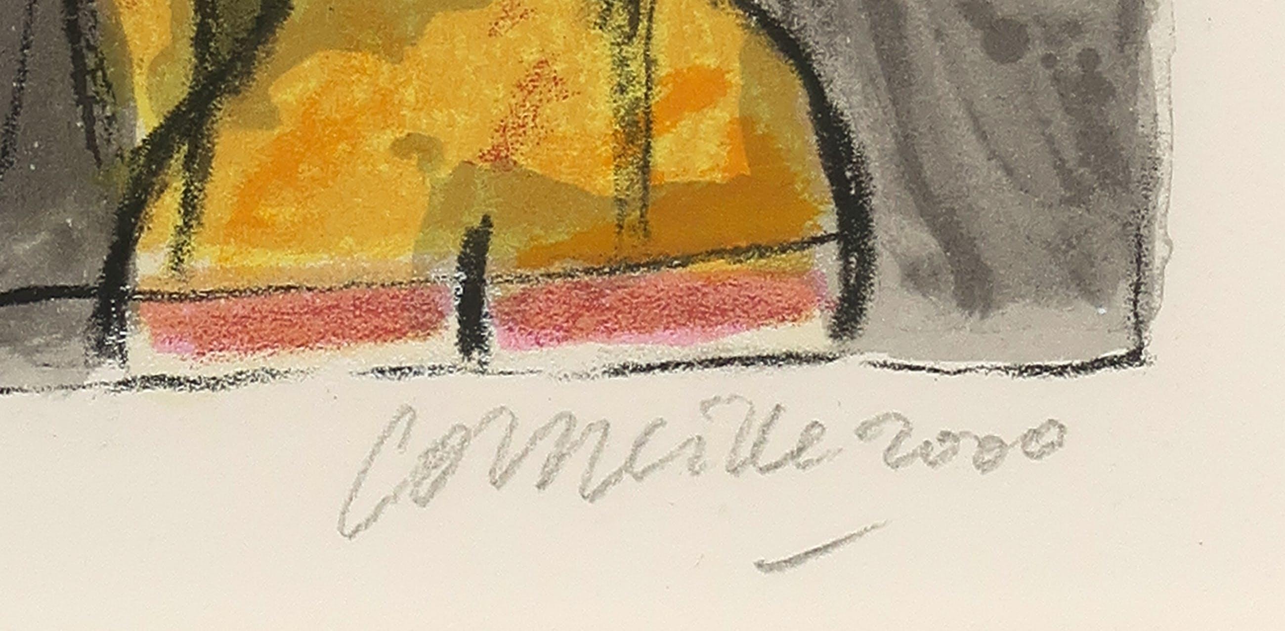Corneille - Zeefdruk, La Chouette - Ingelijst kopen? Bied vanaf 120!