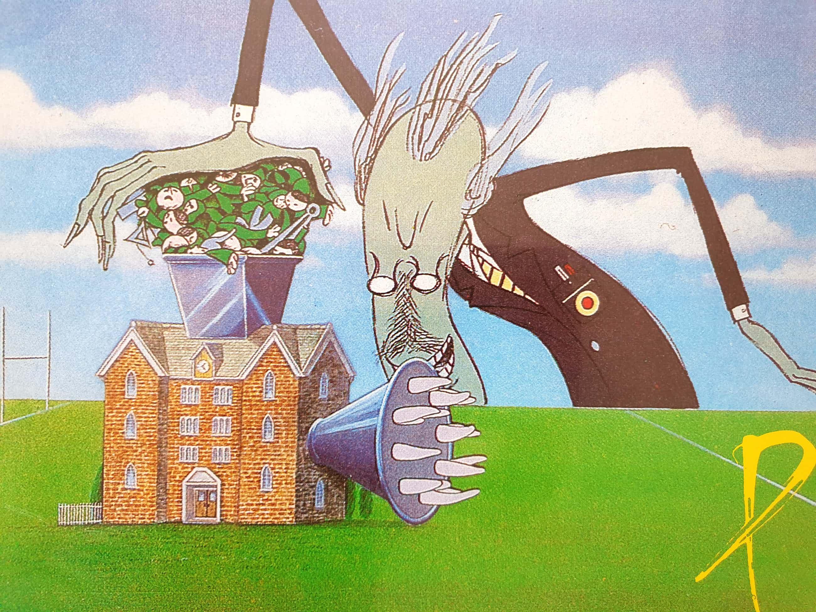 Pink Floyd - Poster 3x The Wall kopen? Bied vanaf 40!