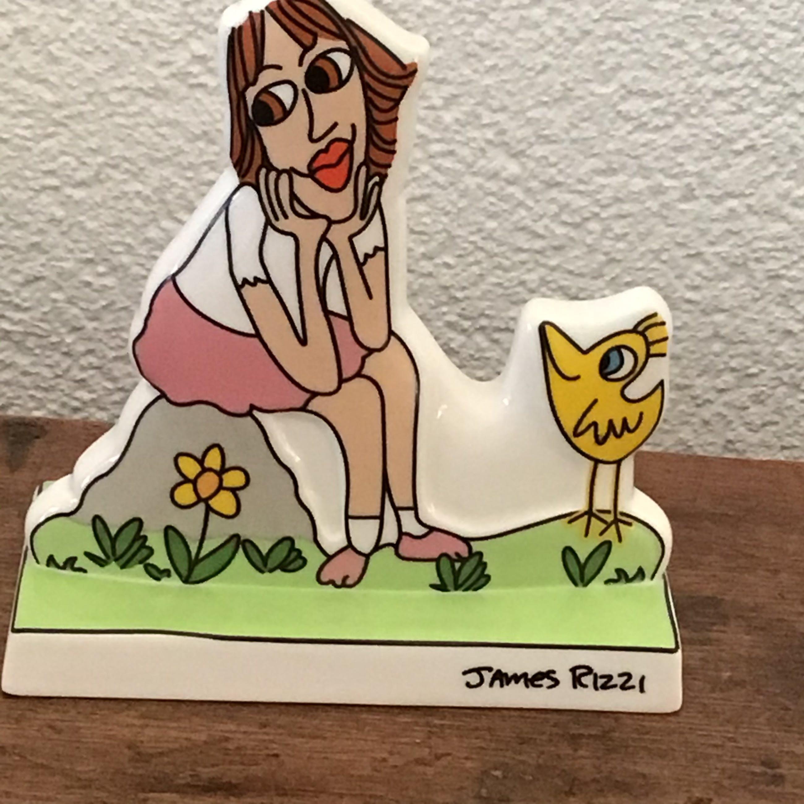 James Rizzi - Thinking of you, porselein beeldje van Goebel kopen? Bied vanaf 40!
