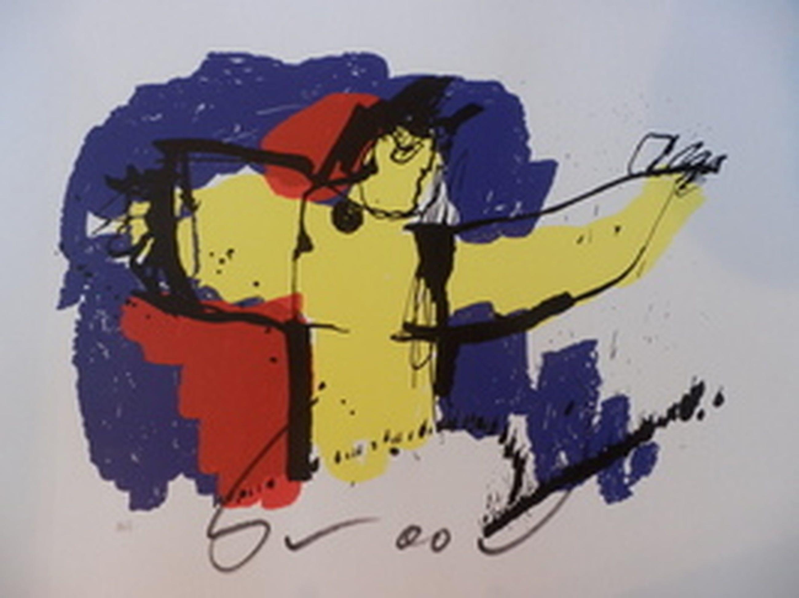 Herman Brood - Kleurenzeefdruk BRASIL GOD Genummerd en Handgesigneerd!! kopen? Bied vanaf 160!