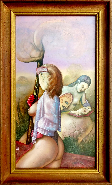 Johannes Garst - surrealistisch werk vol met symboliek kopen? Bied vanaf 95!