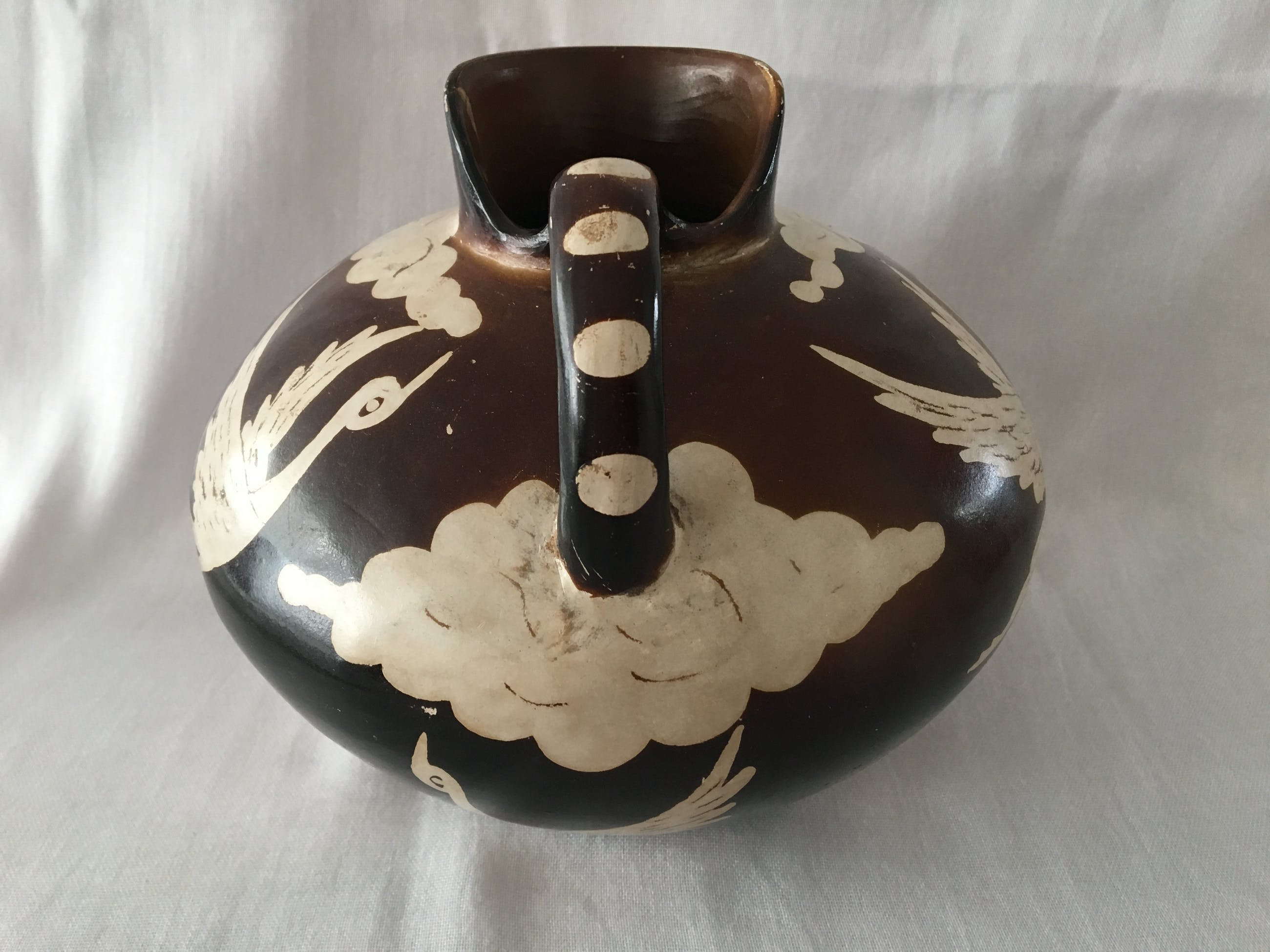 Santodio Paz Juarez - Peruviaanse Chulucanas aardewerk kopen? Bied vanaf 15!