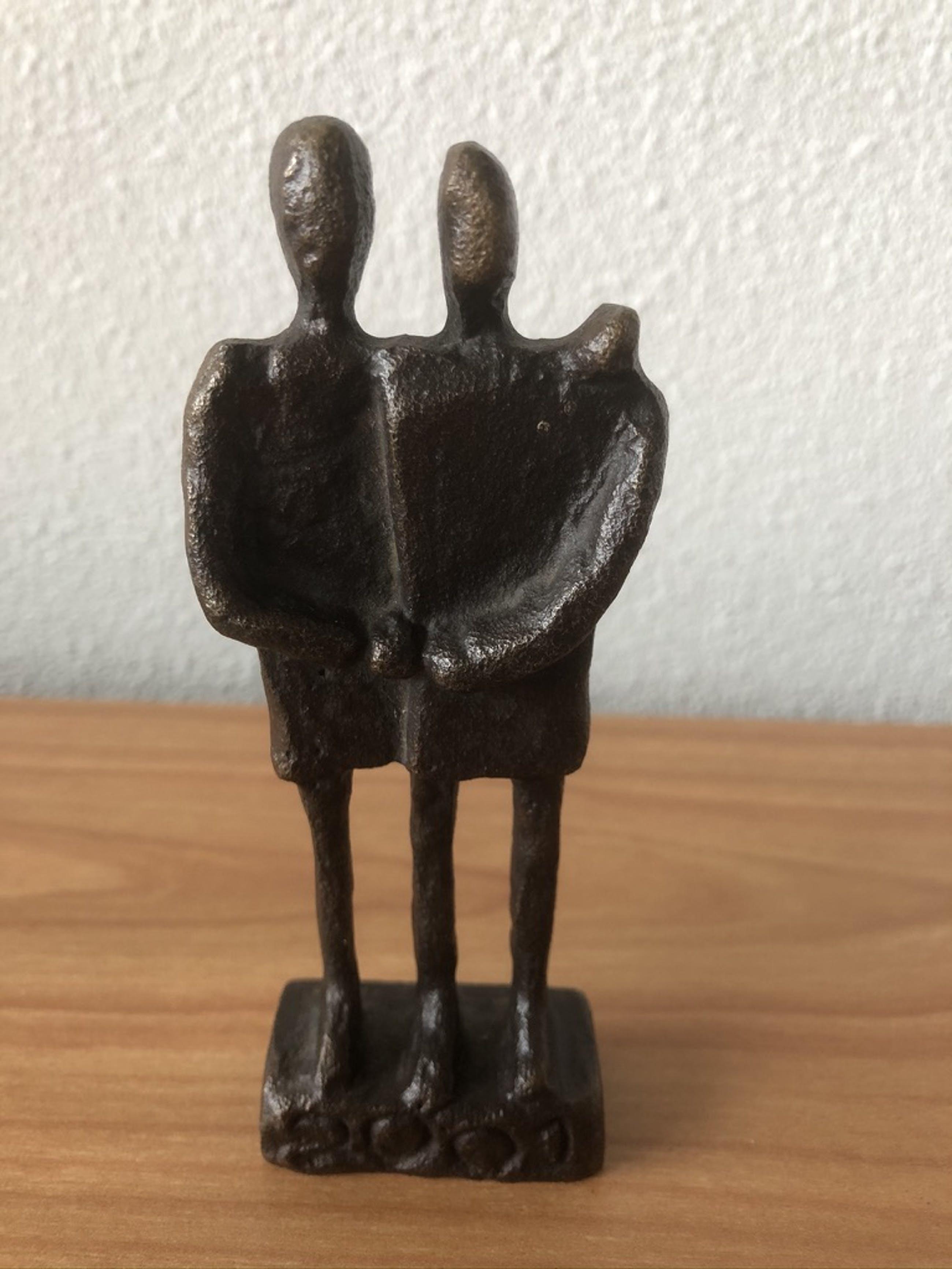 """Jos Gielen - Prachtig beeldje """" VRIENDSCHAP """" kopen? Bied vanaf 65!"""