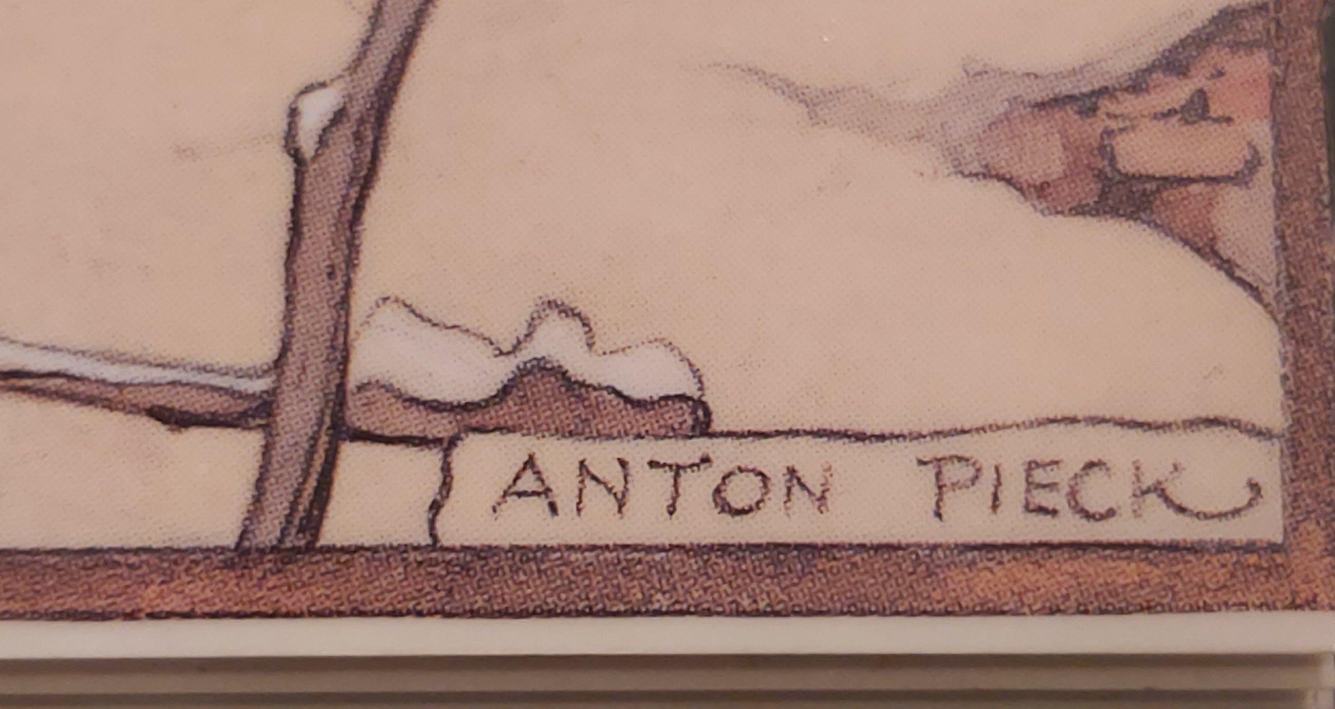 """Anton Pieck  """"WINTER"""" in 3D kopen? Bied vanaf 1!"""