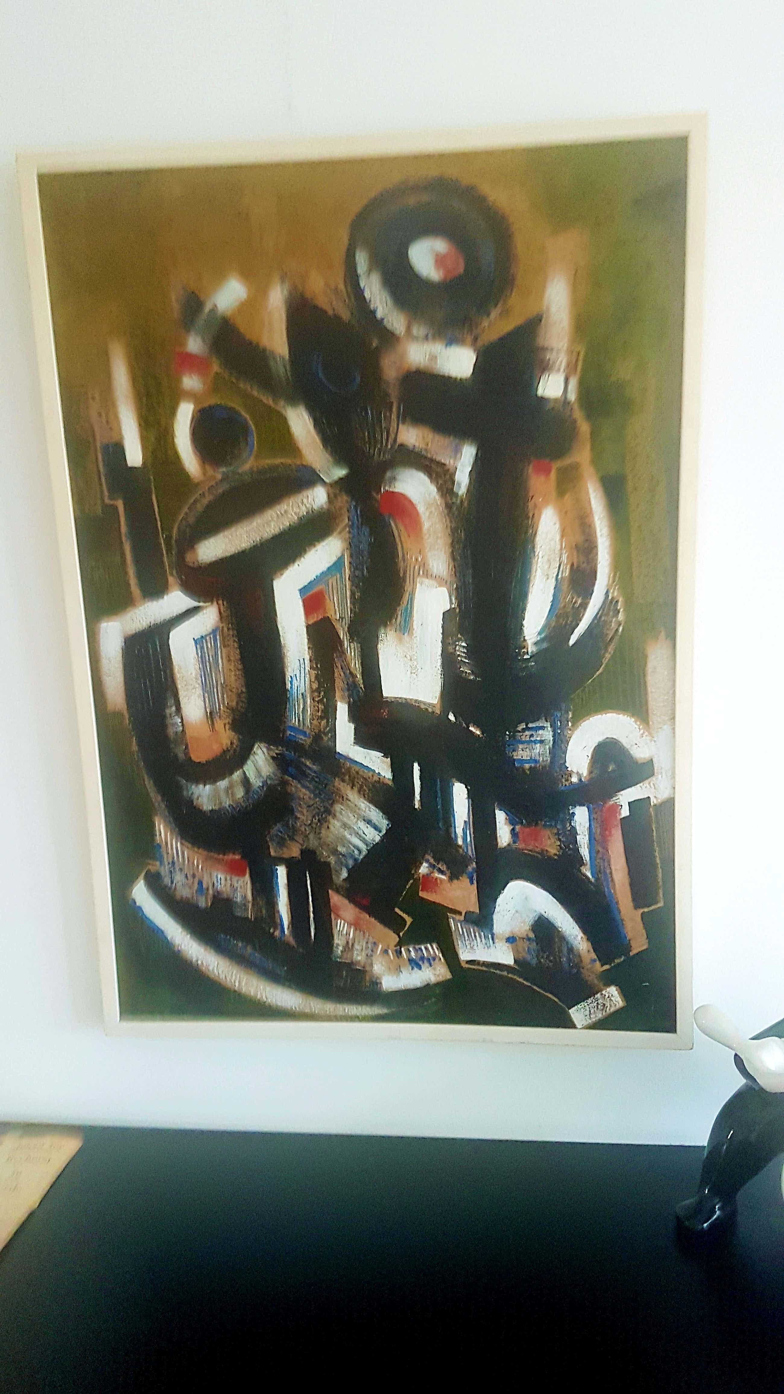 John ter Reehorst - prachtig abstract schilderij kopen? Bied vanaf 100!