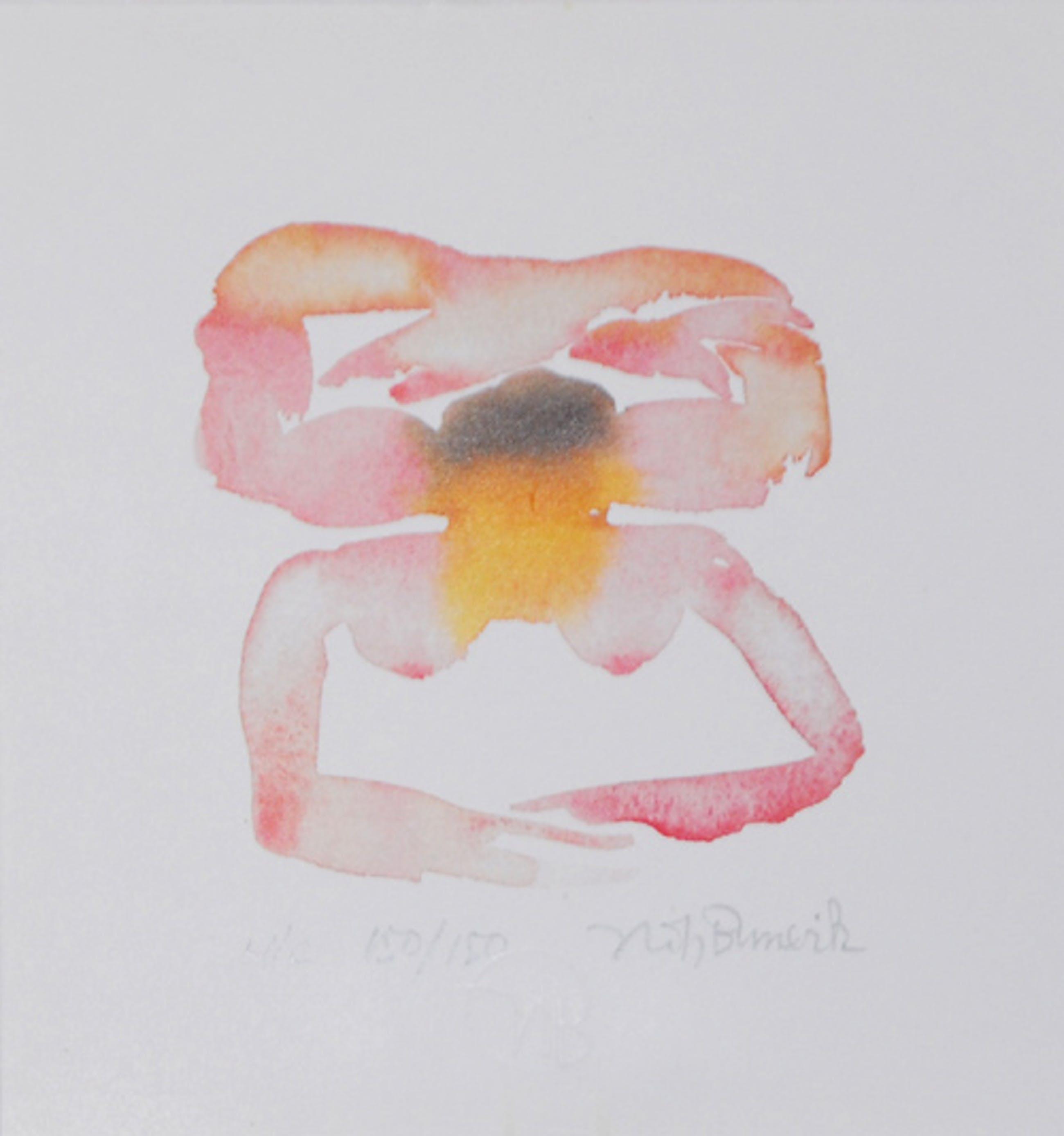 Jorg Reme - e.a: zes zeefdrukken: Molen, Vlag, Tulpen, Man, Kreeft, Abstract kopen? Bied vanaf 22!