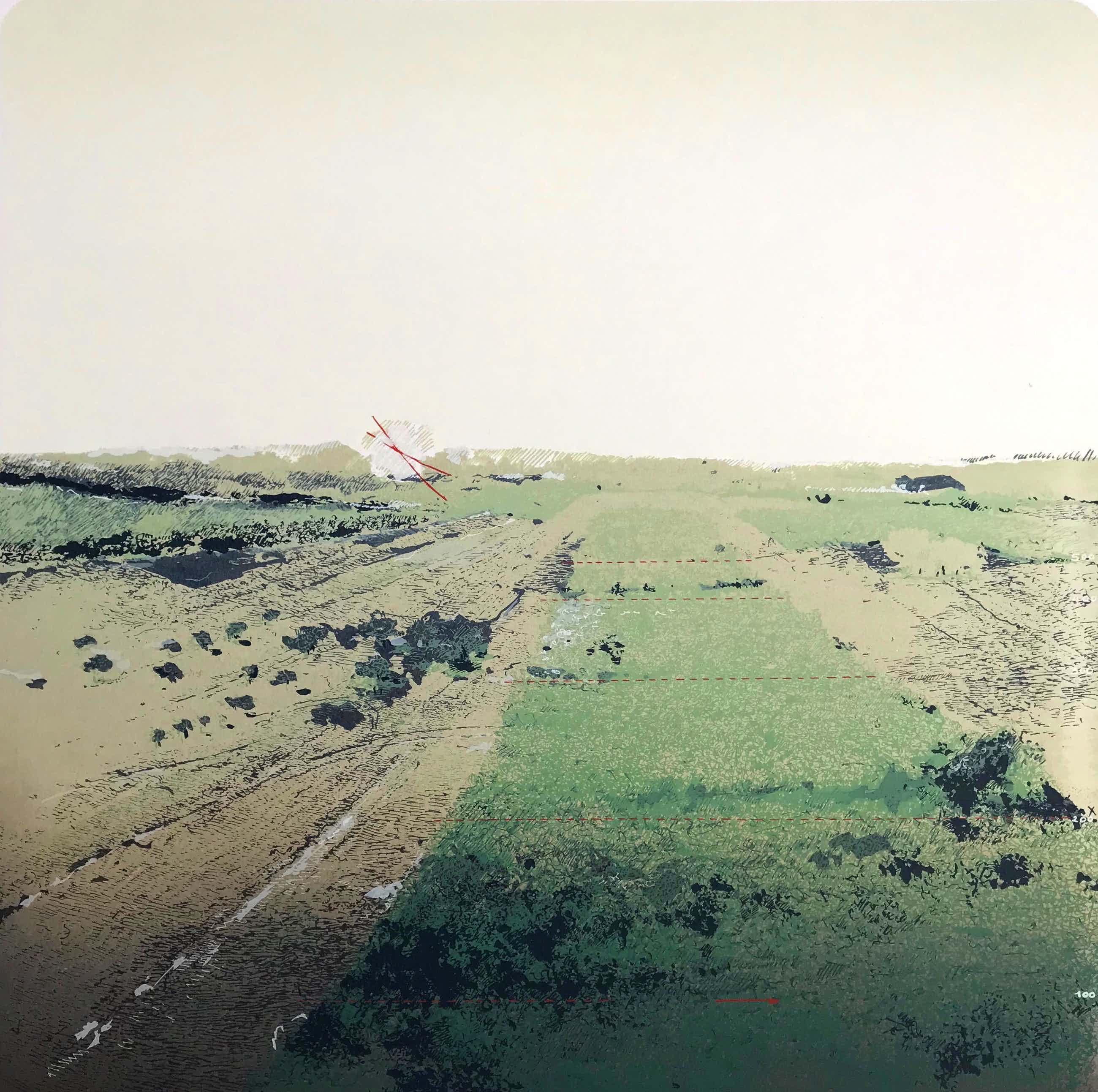 Martin R. Baeyens - West Part of Trees - Gesigneerde zeefdruk - 10/100 - 1981 kopen? Bied vanaf 75!