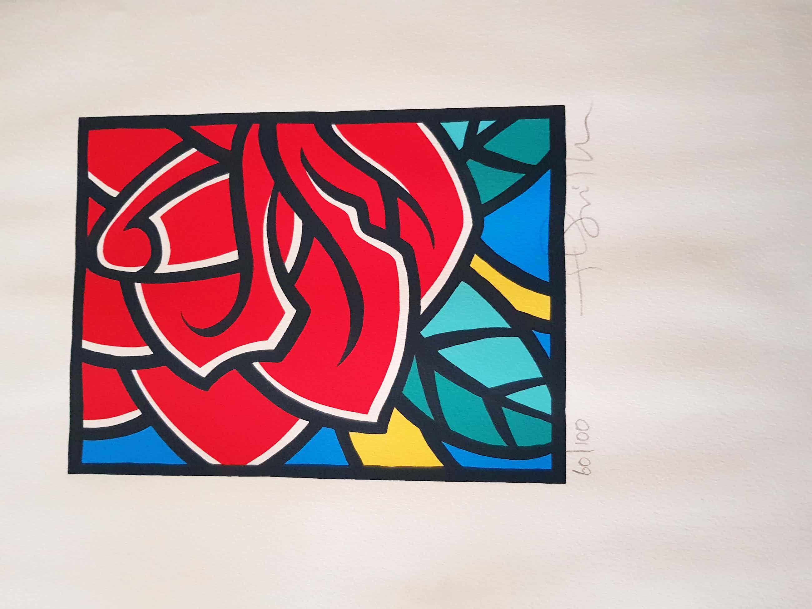 Henk Schiffmacher - De roos kopen? Bied vanaf 50!
