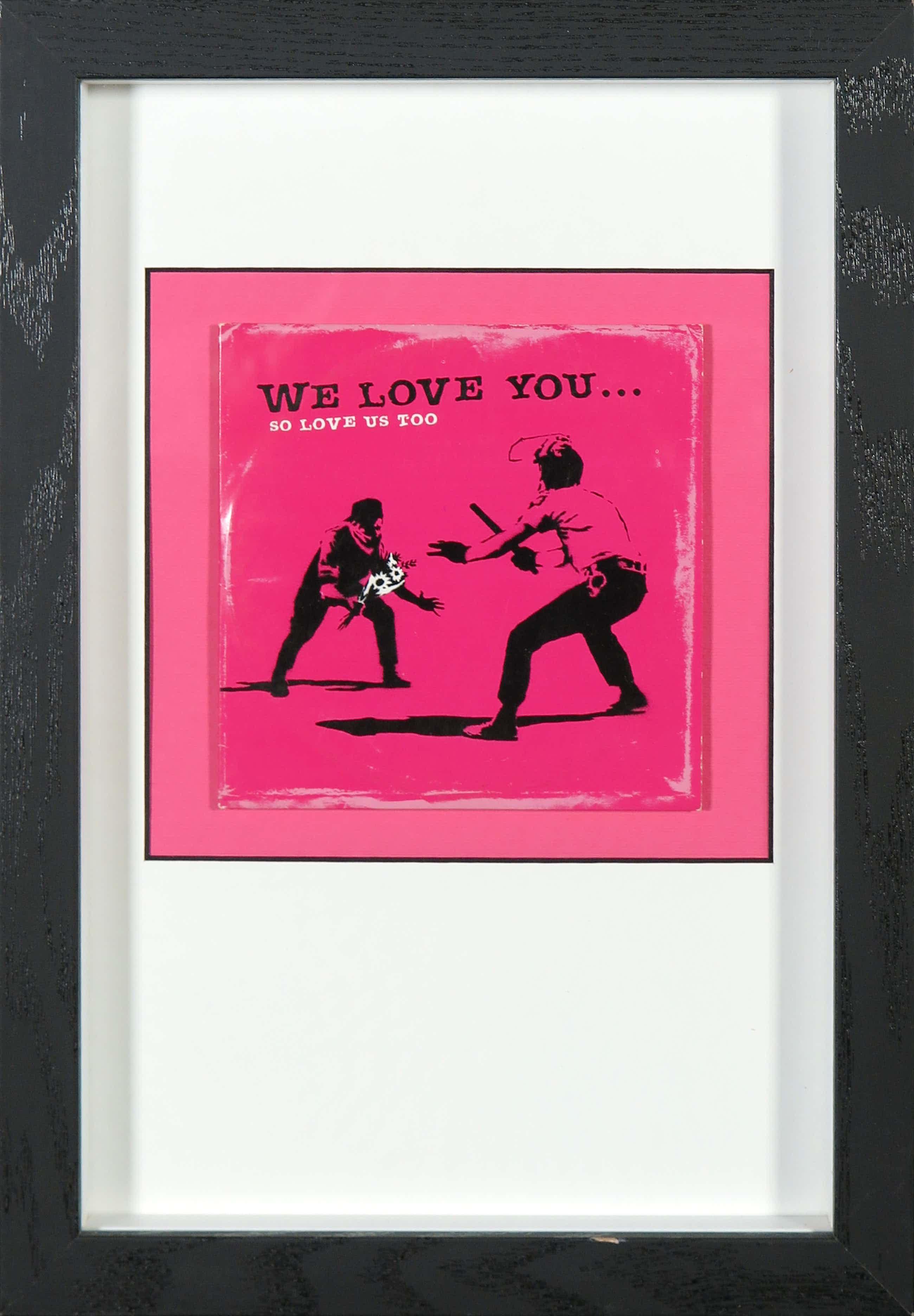 Banksy - We love you... so love us too (CD) - Ingelijst kopen? Bied vanaf 40!