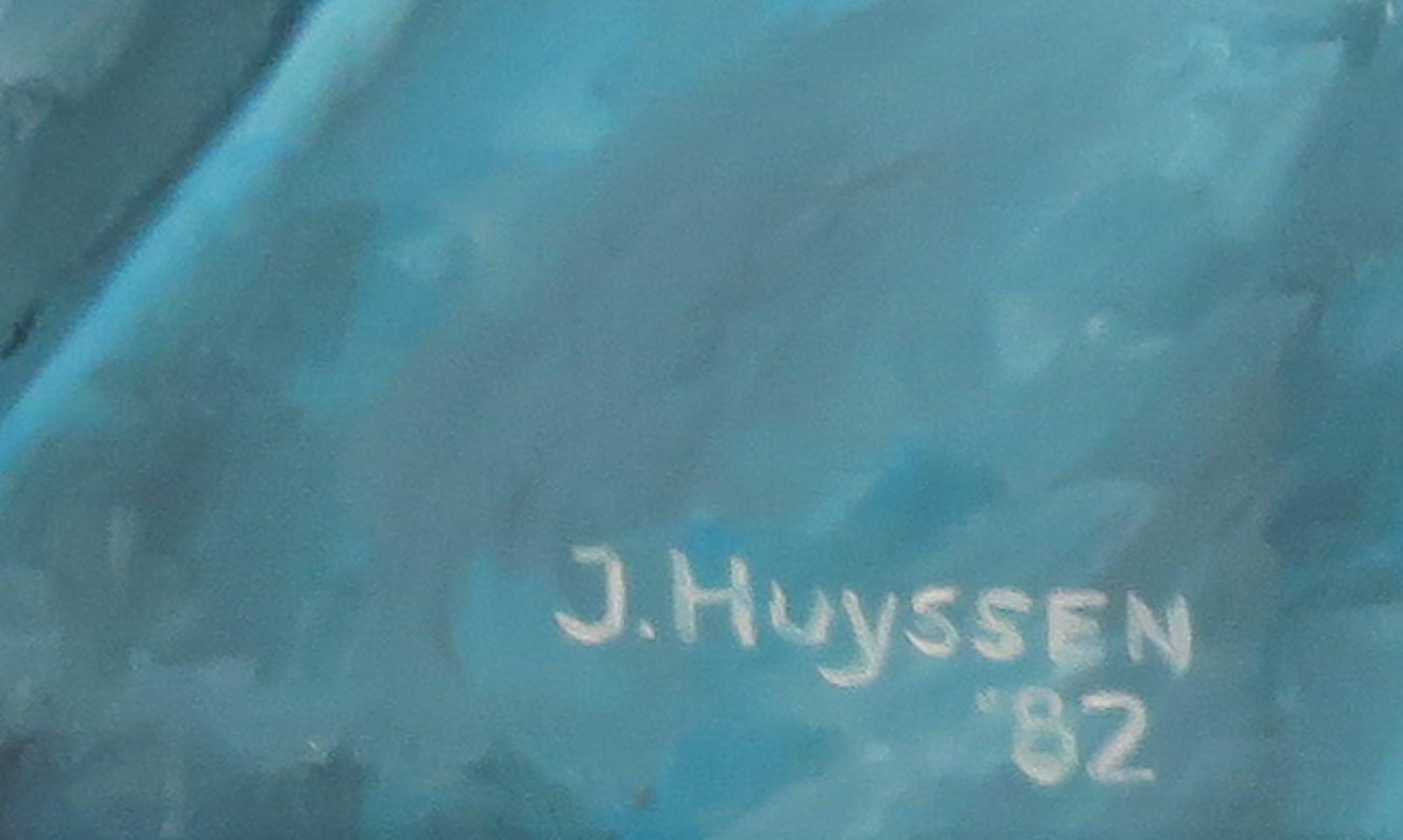 J. Huyssen - Olieverf op doek, Visser - Ingelijst kopen? Bied vanaf 100!