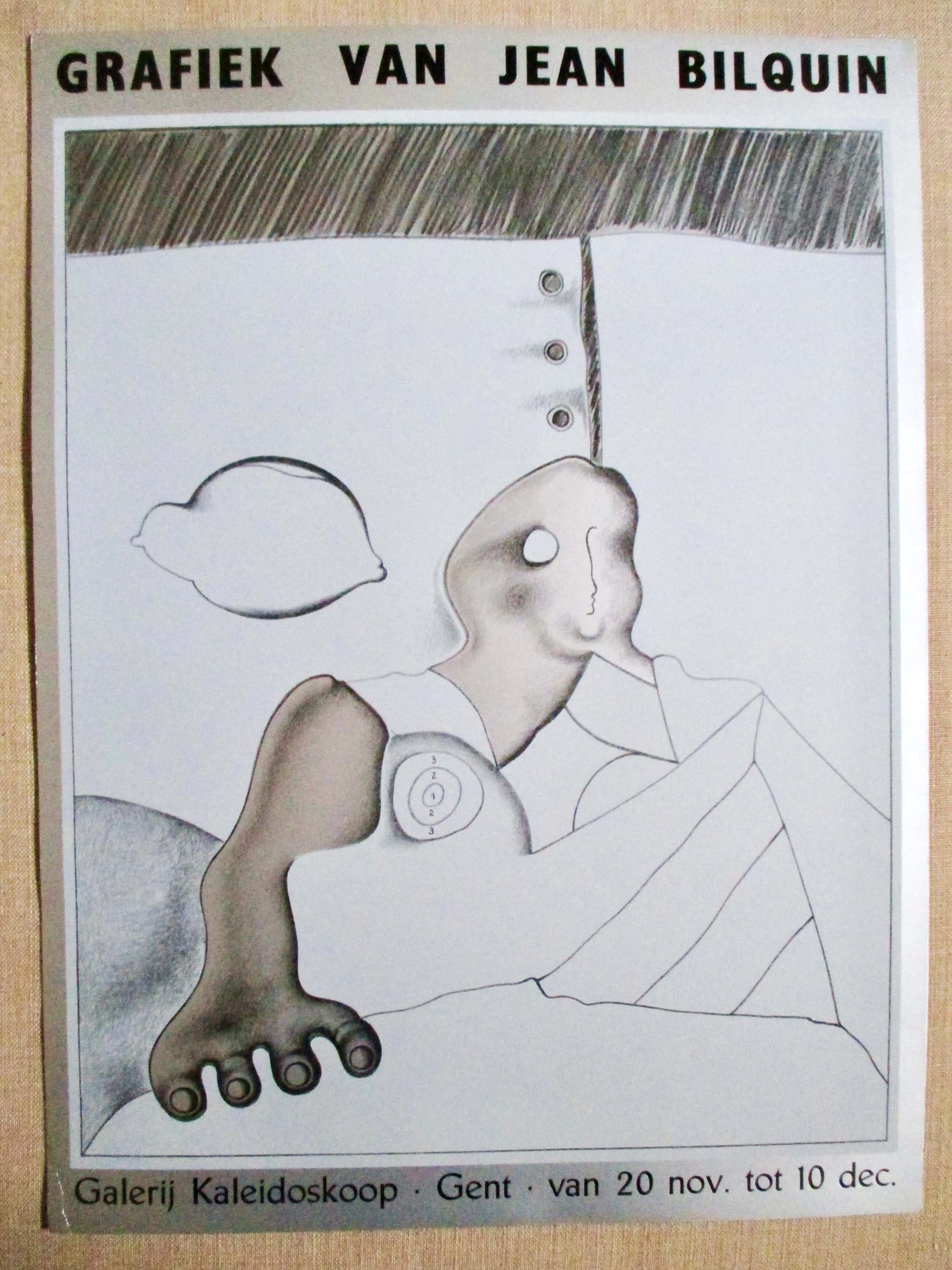 Jean Bilquin - Gesigneerde Offsetdruk Galerij Kaleidoskoop kopen? Bied vanaf 25!