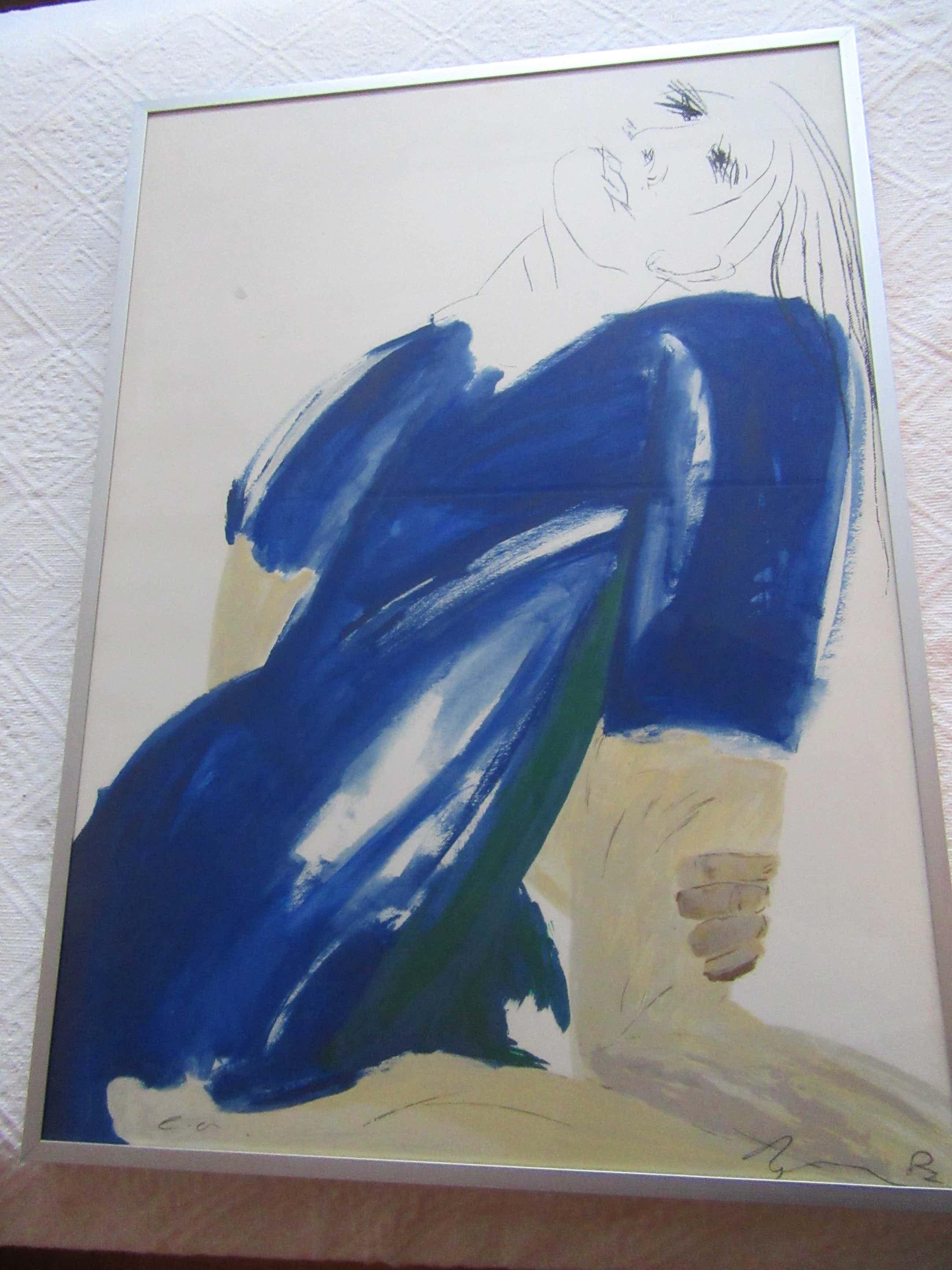 Jacqueline de Jong - De blauwe dame kopen? Bied vanaf 60!