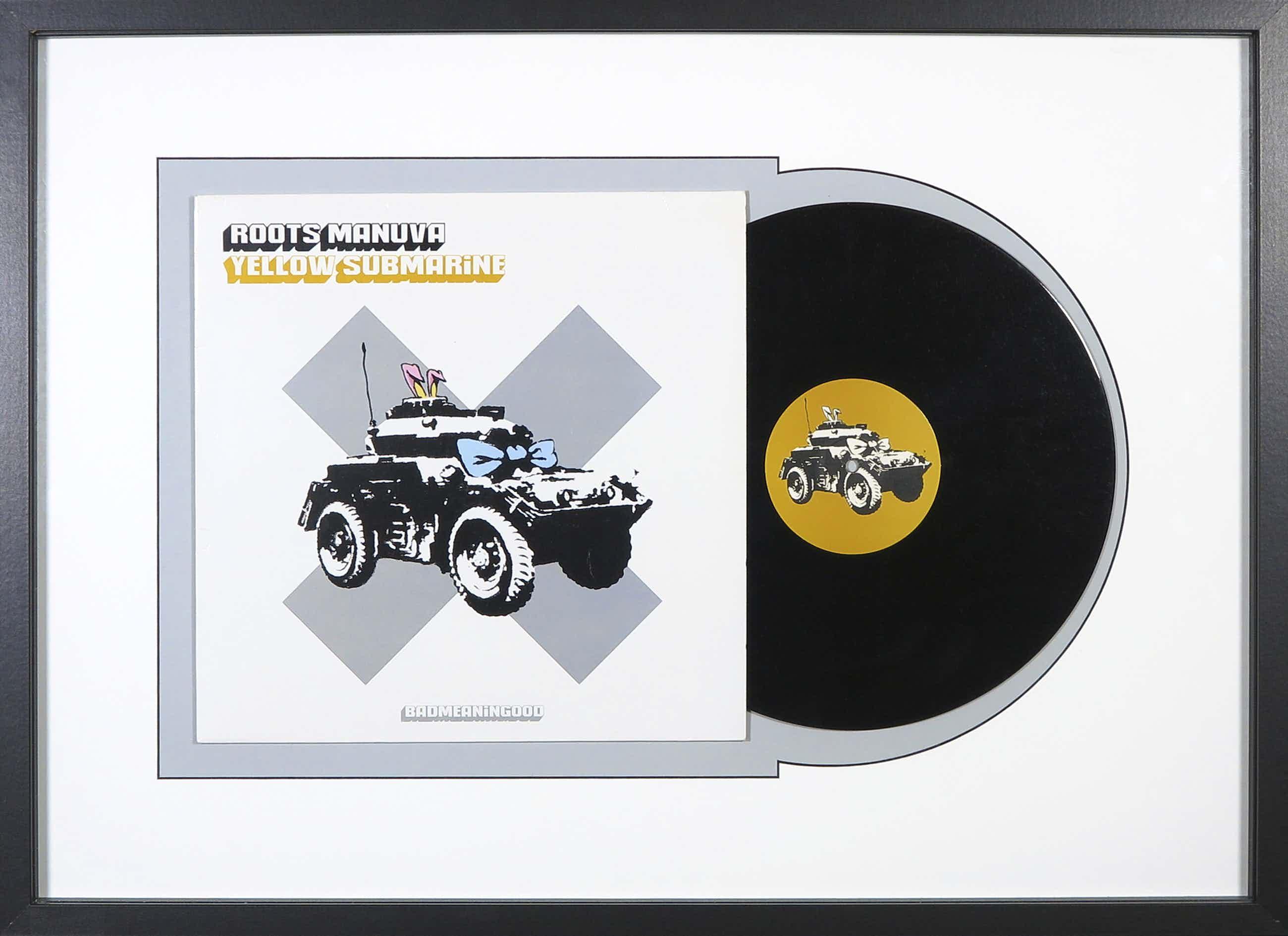 Banksy - Yellow Submarine door Roots Manuva - Ingelijst kopen? Bied vanaf 300!