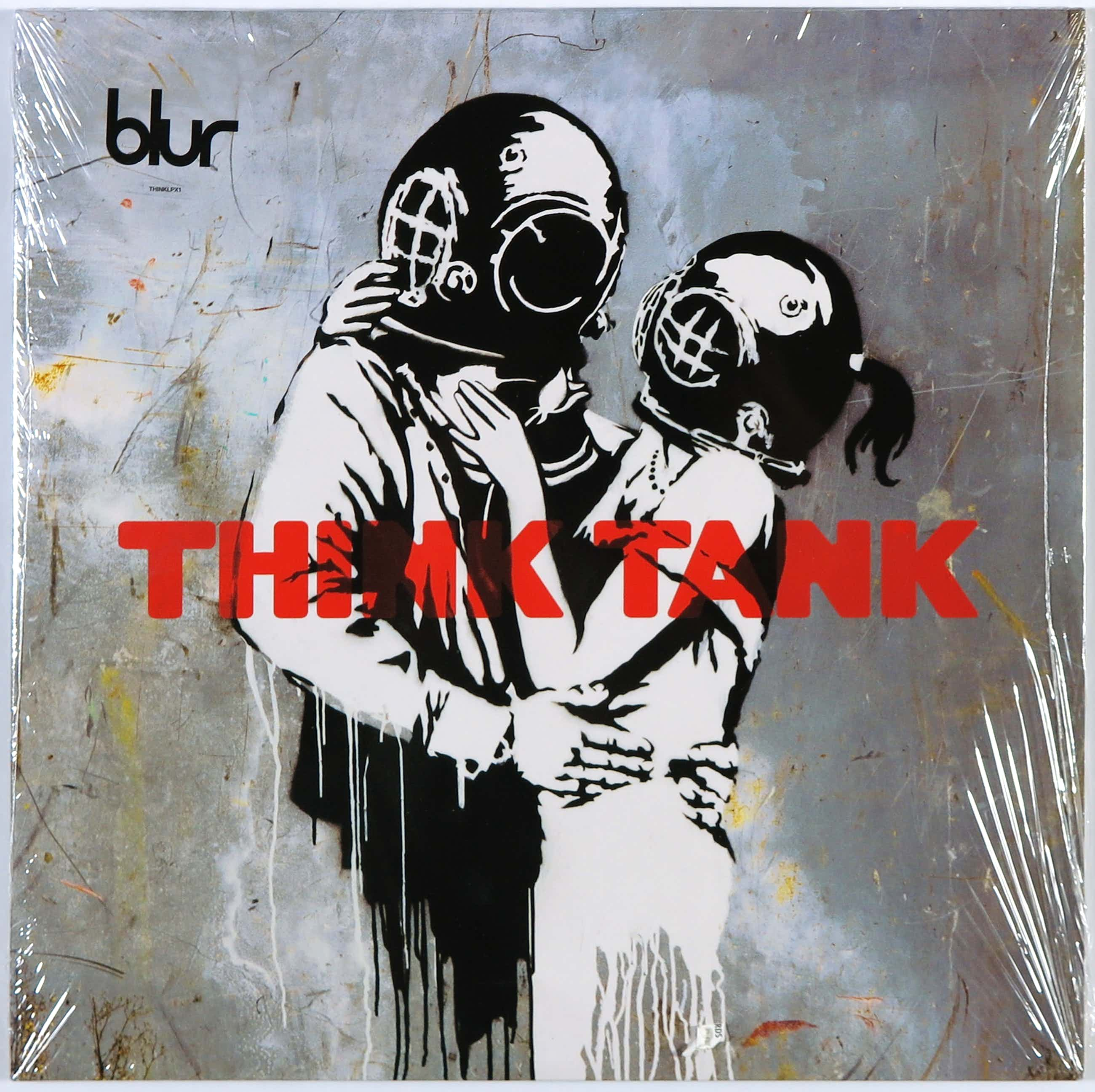 Banksy - Dubbel LP - Blur - Think Tank (Re-Issue) kopen? Bied vanaf 80!