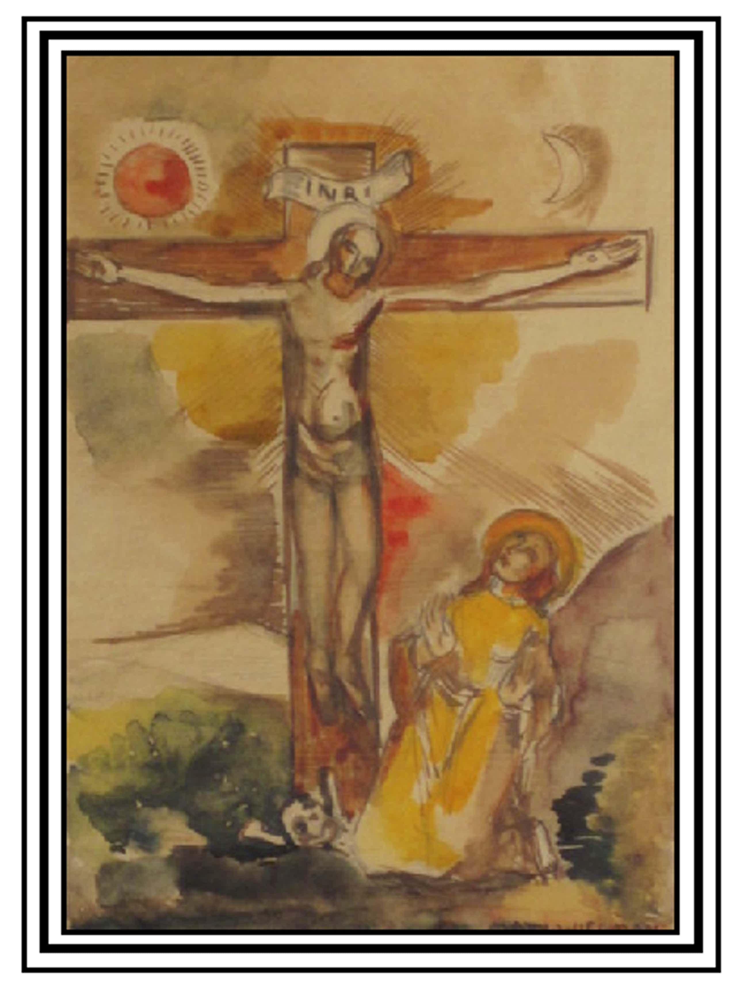 Matthieu Wiegman - Jezus aan het kruis kopen? Bied vanaf 110!