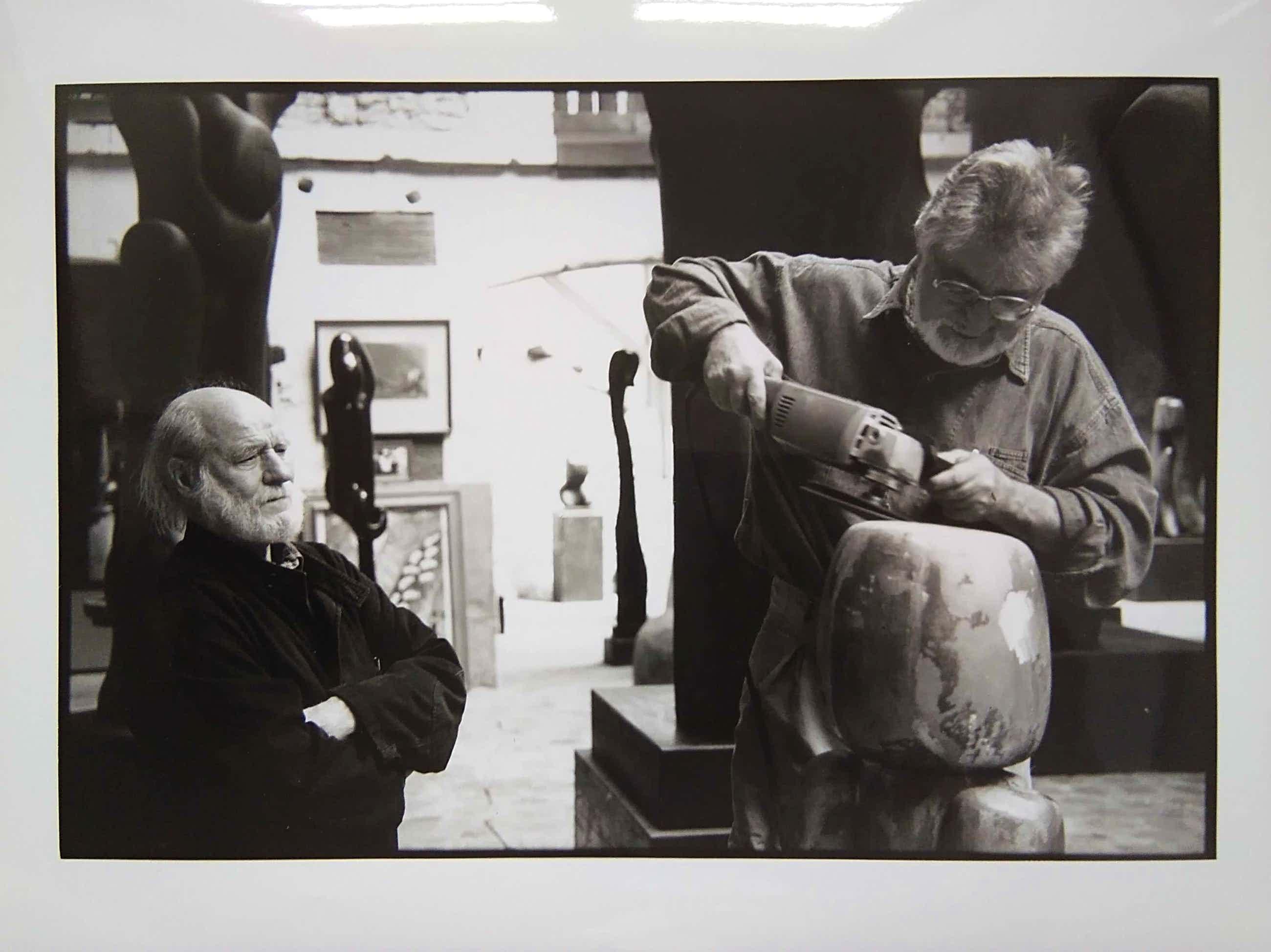 Nico Koster - Corneille met beeldhouwer kopen? Bied vanaf 50!