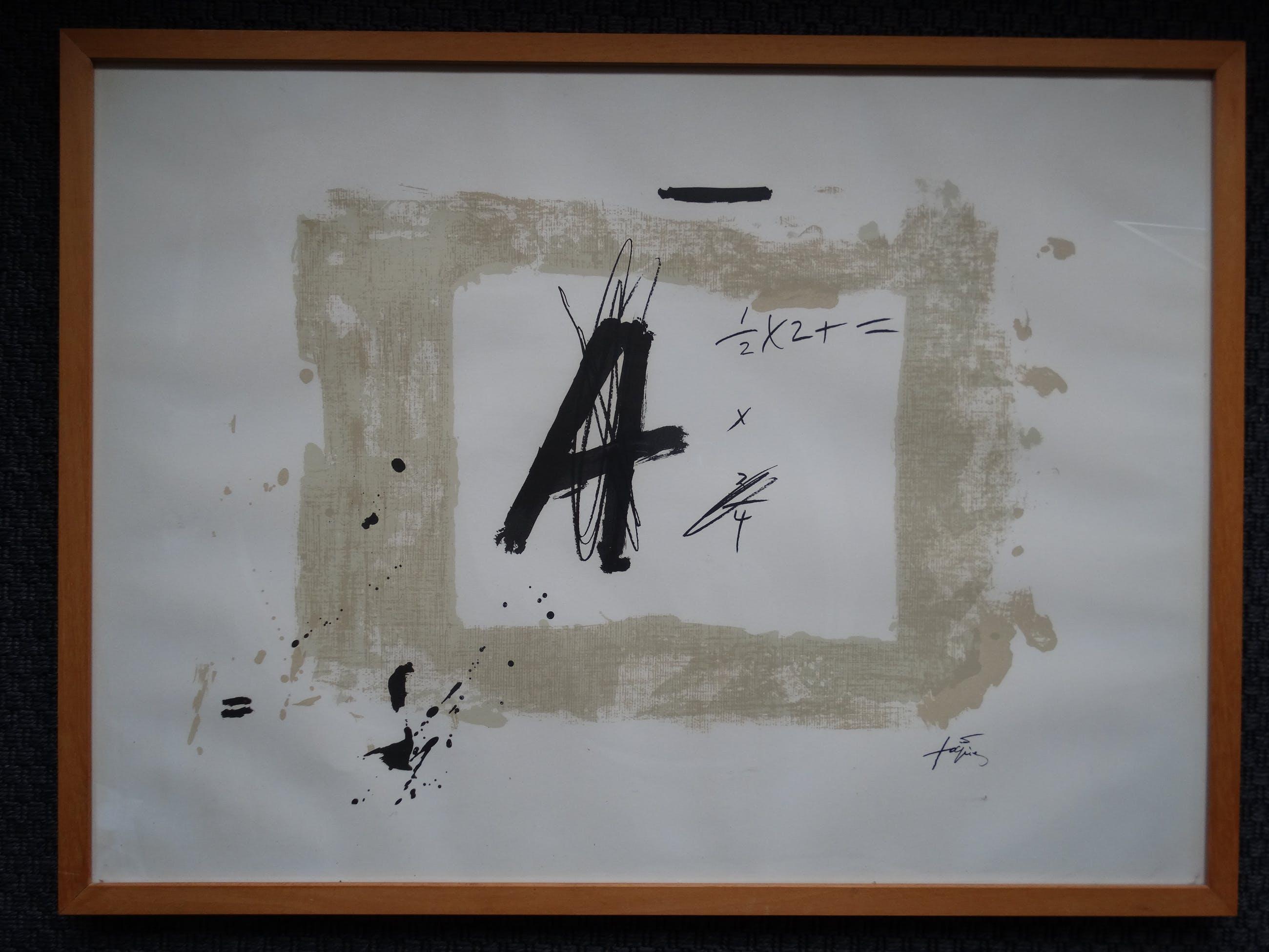 Antoni Tapies - A Tapies kopen? Bied vanaf 300!