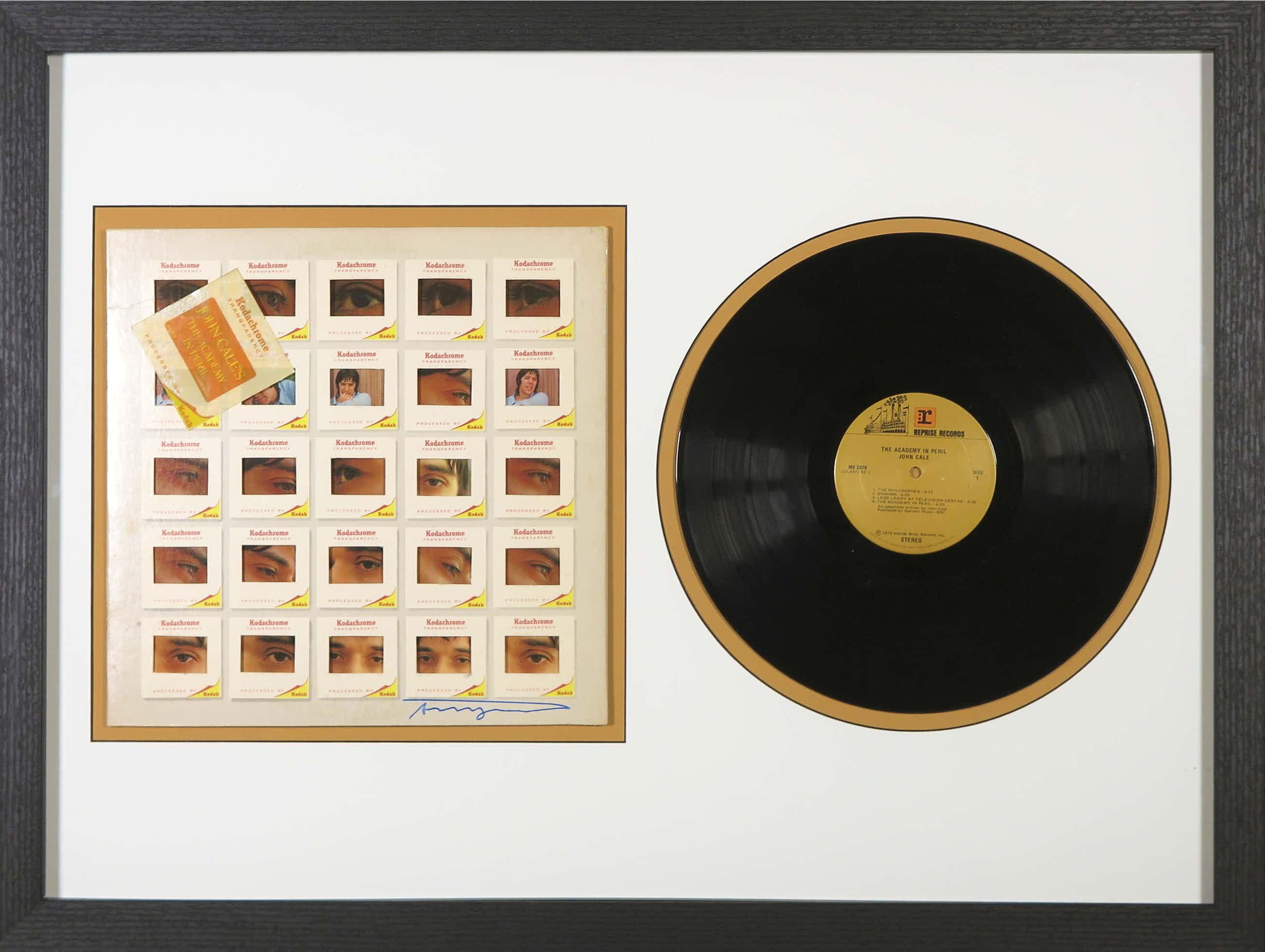 Andy Warhol - Handgesigneerde LP-hoes album The Academy in Peril van John Cale - Ingelijst kopen? Bied vanaf 501!