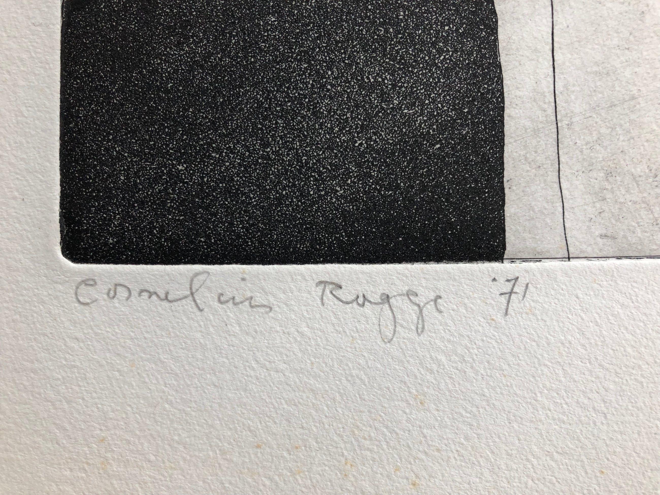 Cornelius Rogge - ets - zonder titel kopen? Bied vanaf 10!