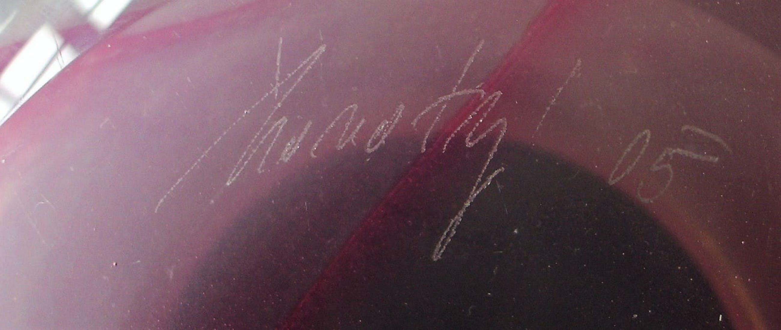 Royal Leerdam - Ondra Novotny, unica , zwaar uitgevoerde roze design-vaas kopen? Bied vanaf 10!