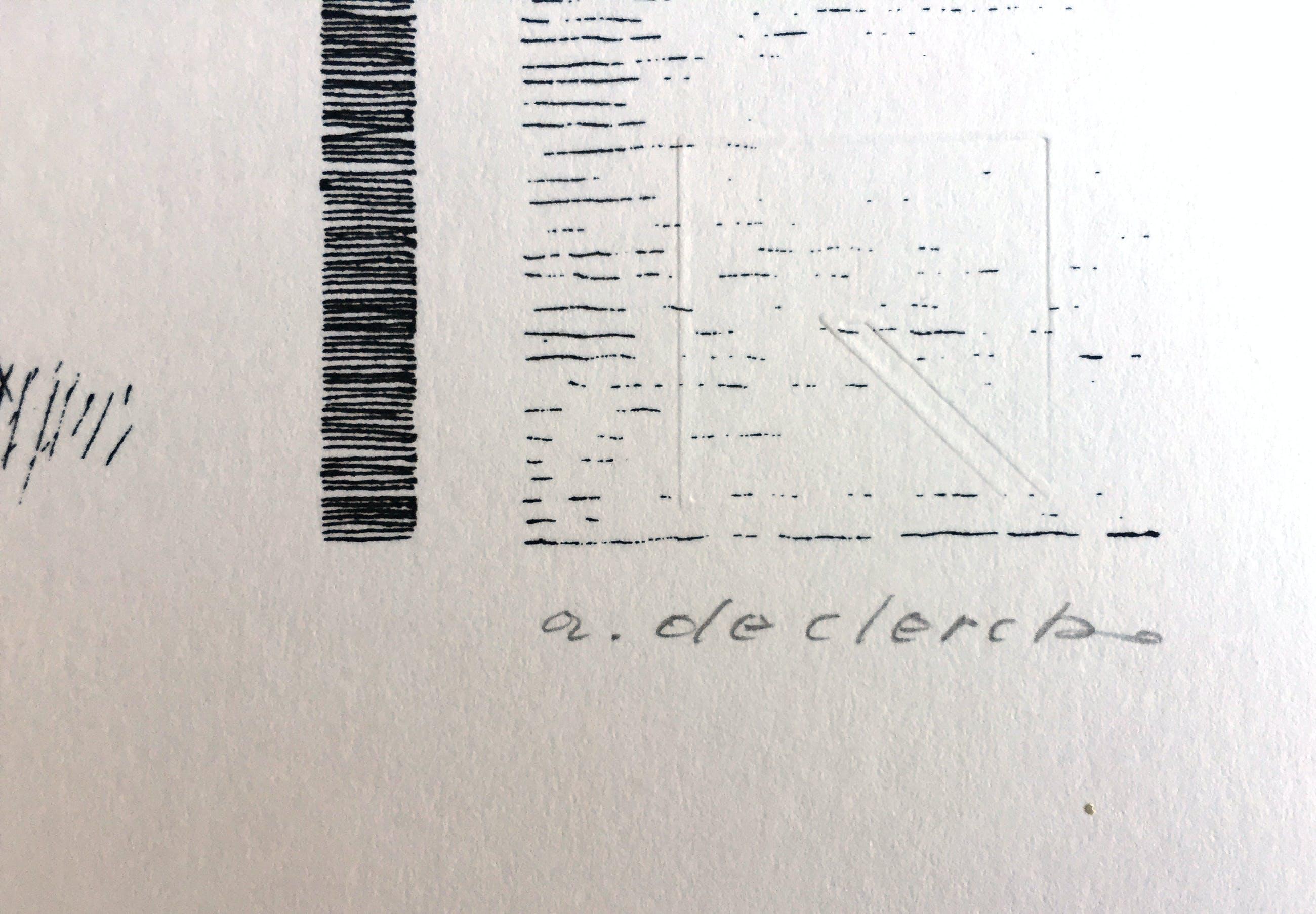 Antoon de Clerck - Stoel + Zittend figuur kopen? Bied vanaf 35!