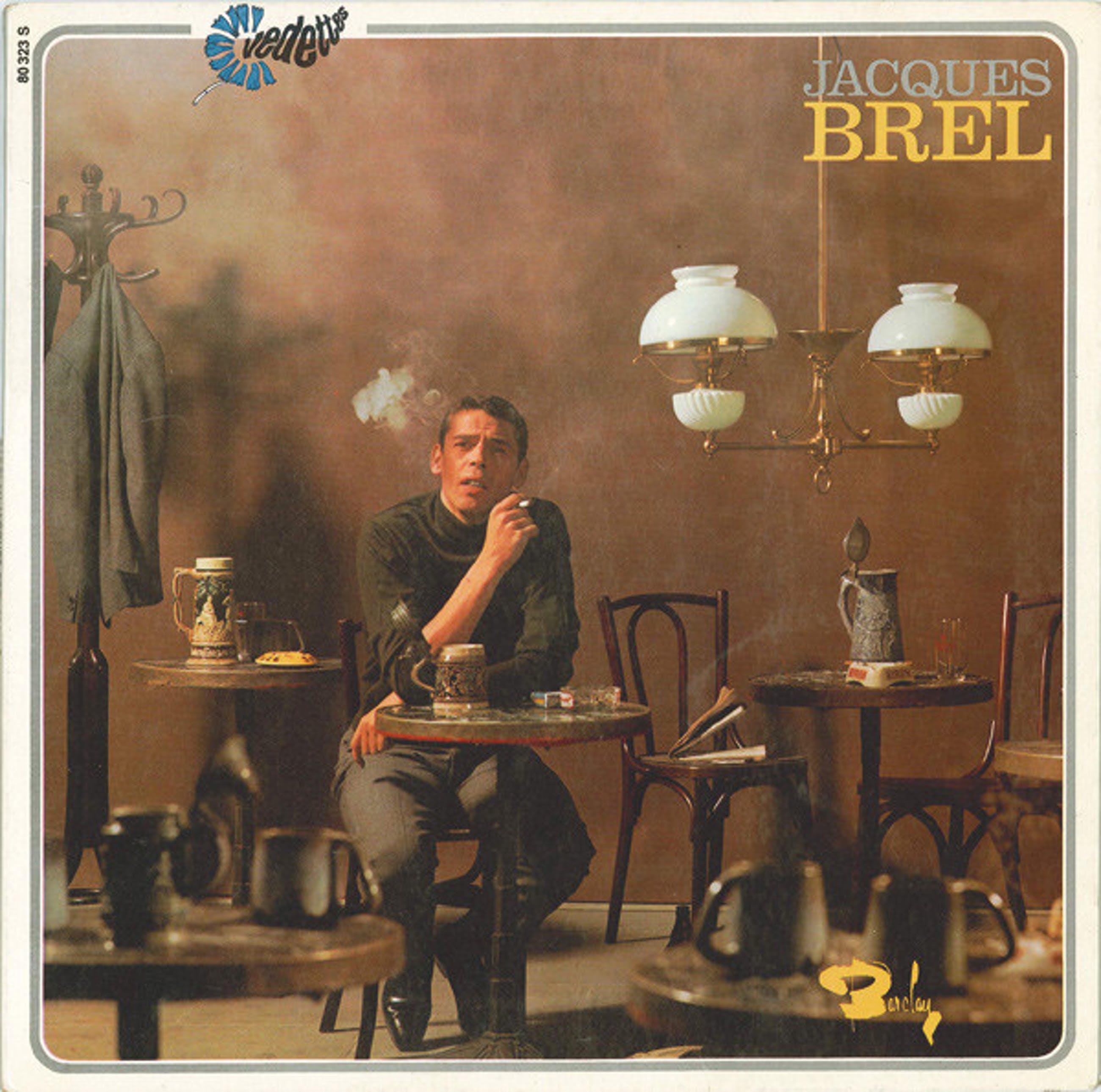 Jacques Brel - lot van 2 singles kopen? Bied vanaf 9!
