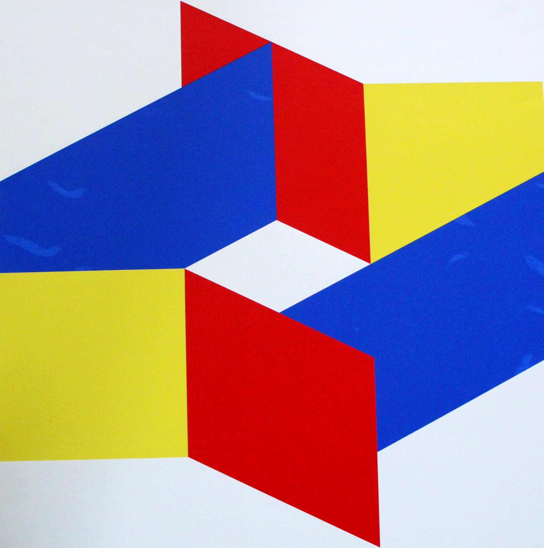 Bob Bonies - Abstractie compositie - Prent 190 - 1973 kopen? Bied vanaf 80!