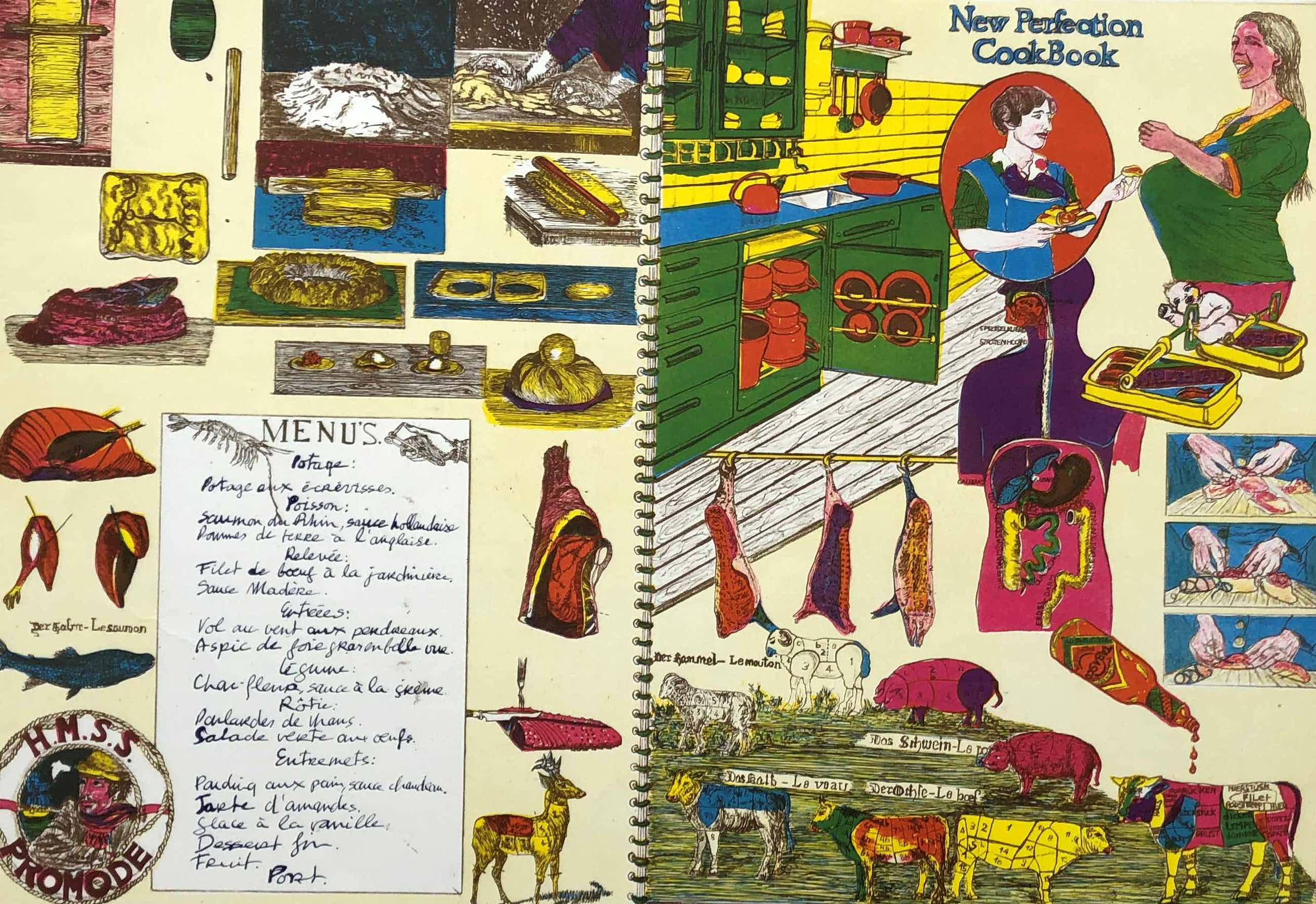 Jacqueline de Jong - prent 190: The perfect cookbook kopen? Bied vanaf 65!