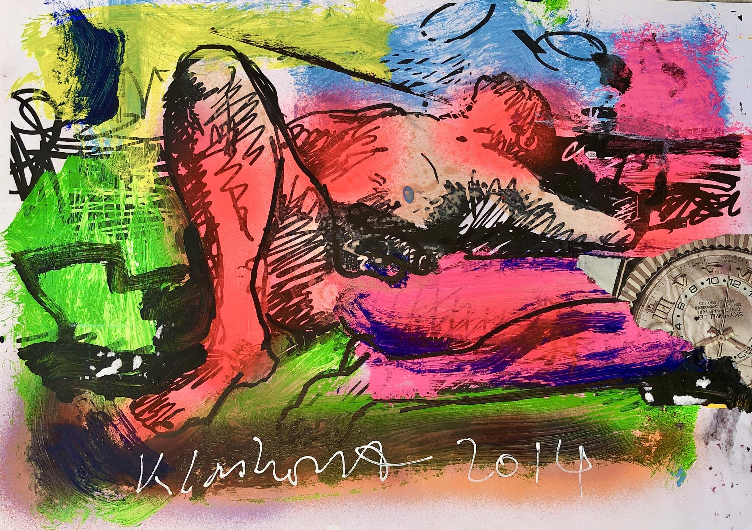 Peter Klashorst - The naked painter kopen? Bied vanaf 70!