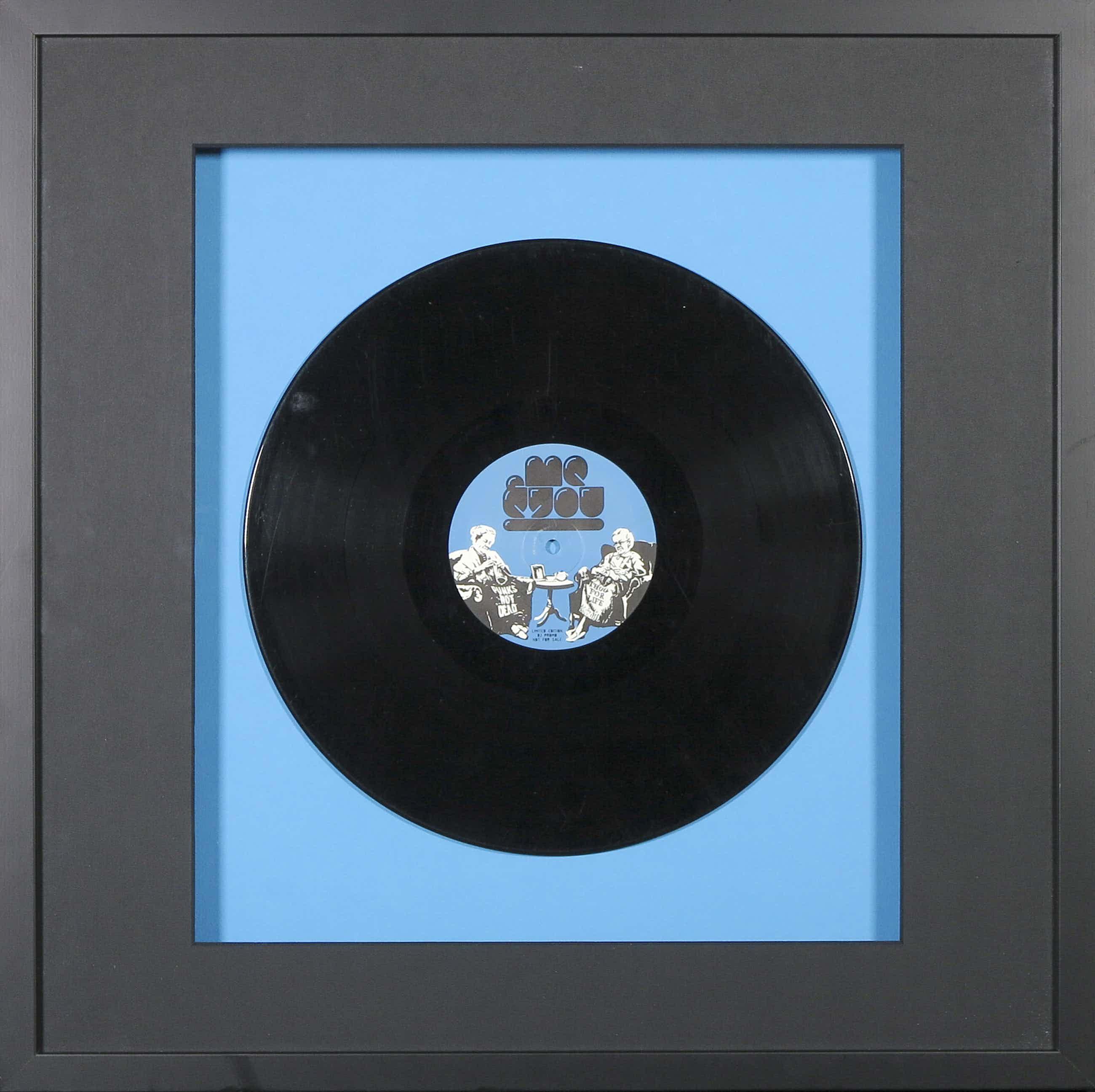 Banksy - Me&You /Various - Rebtuz Presents Birthdays EP - Ingelijst kopen? Bied vanaf 150!