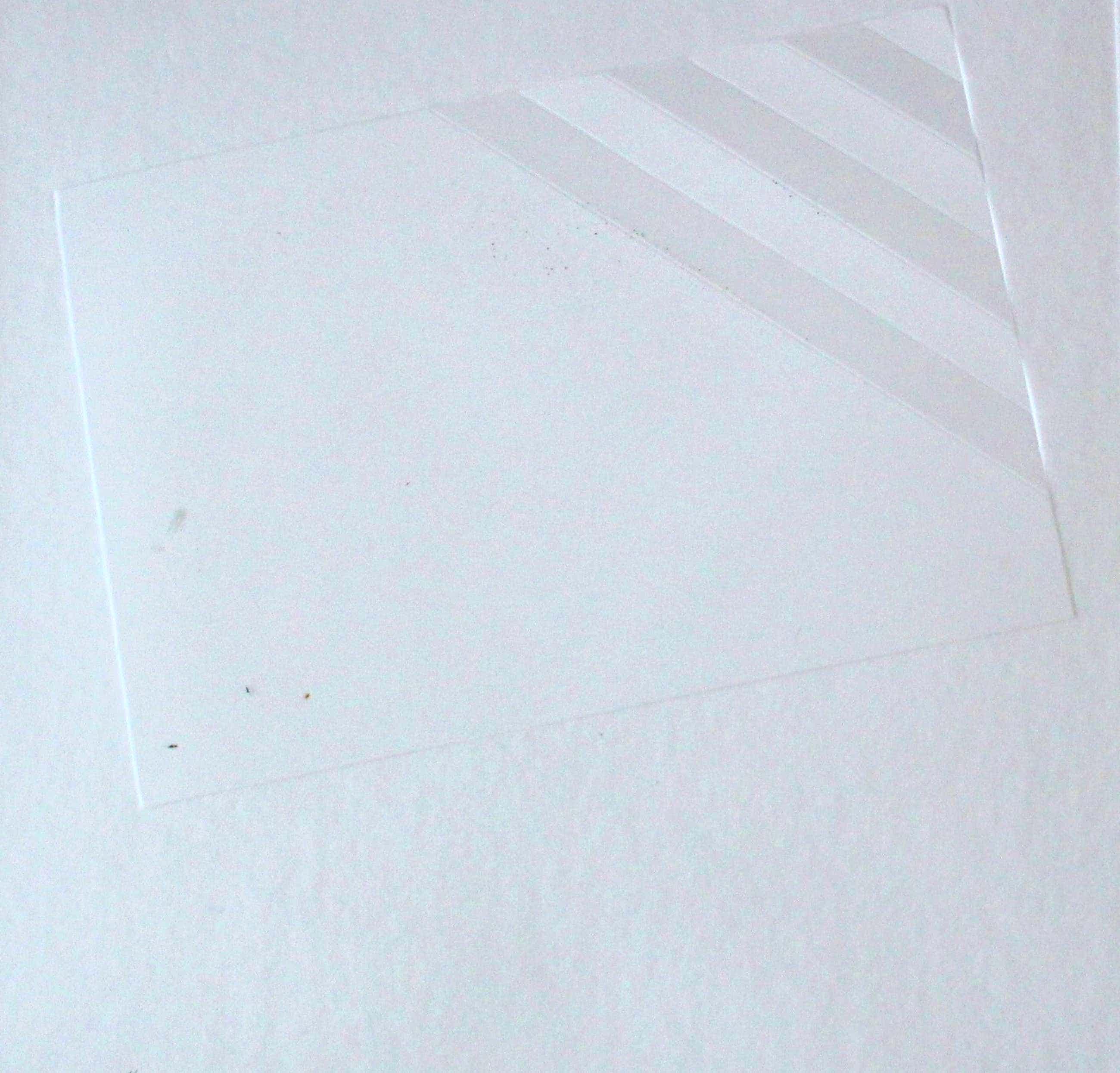 Harry van Kuyk - Grote reliefdruk, Geometrische diepdruk - 1977 kopen? Bied vanaf 125!