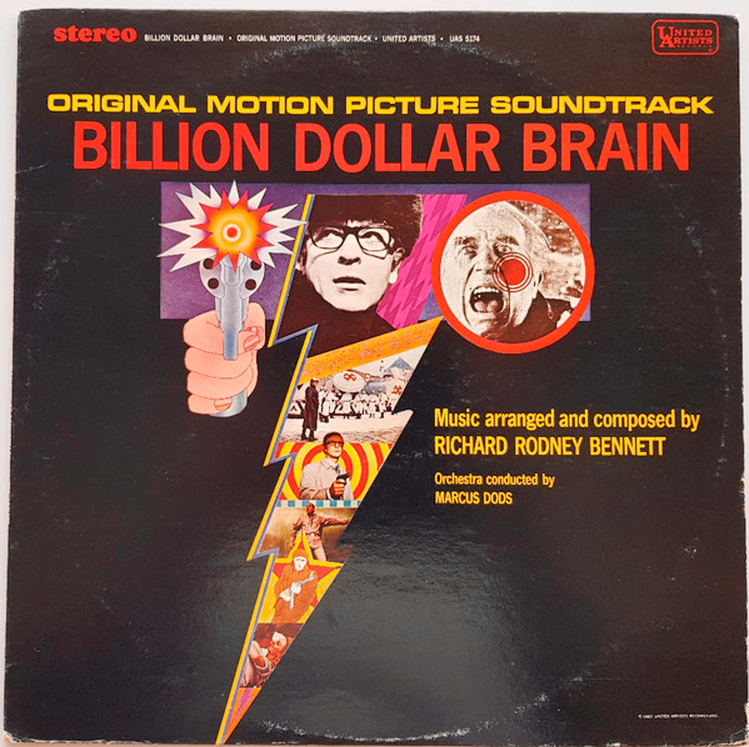 Sir Richard Rodney Bennett - Billion Dollar Brain kopen? Bied vanaf 10!