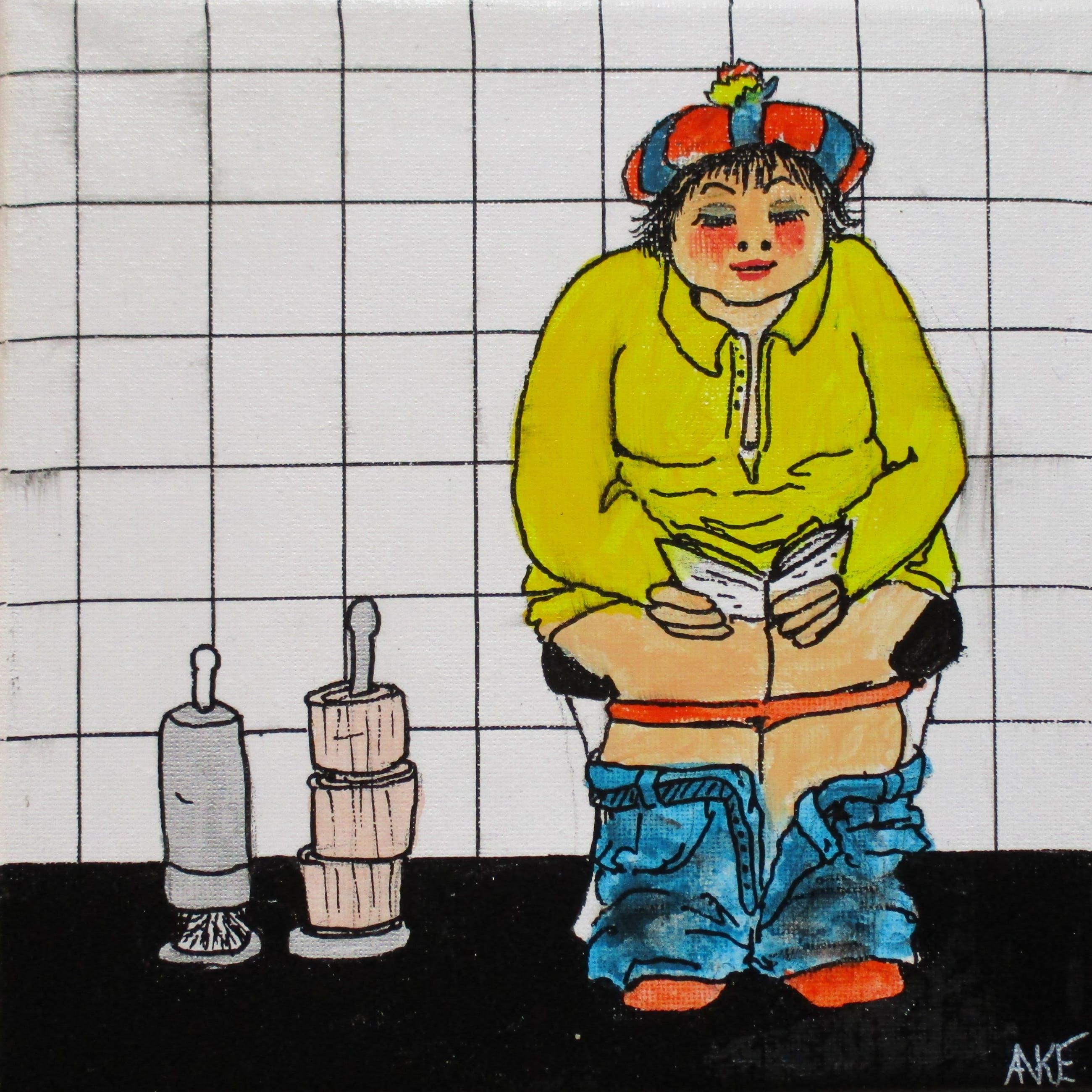 Anke Peddemors - kunst voor in het kleinste kamertje Jansje kopen? Bied vanaf 17!