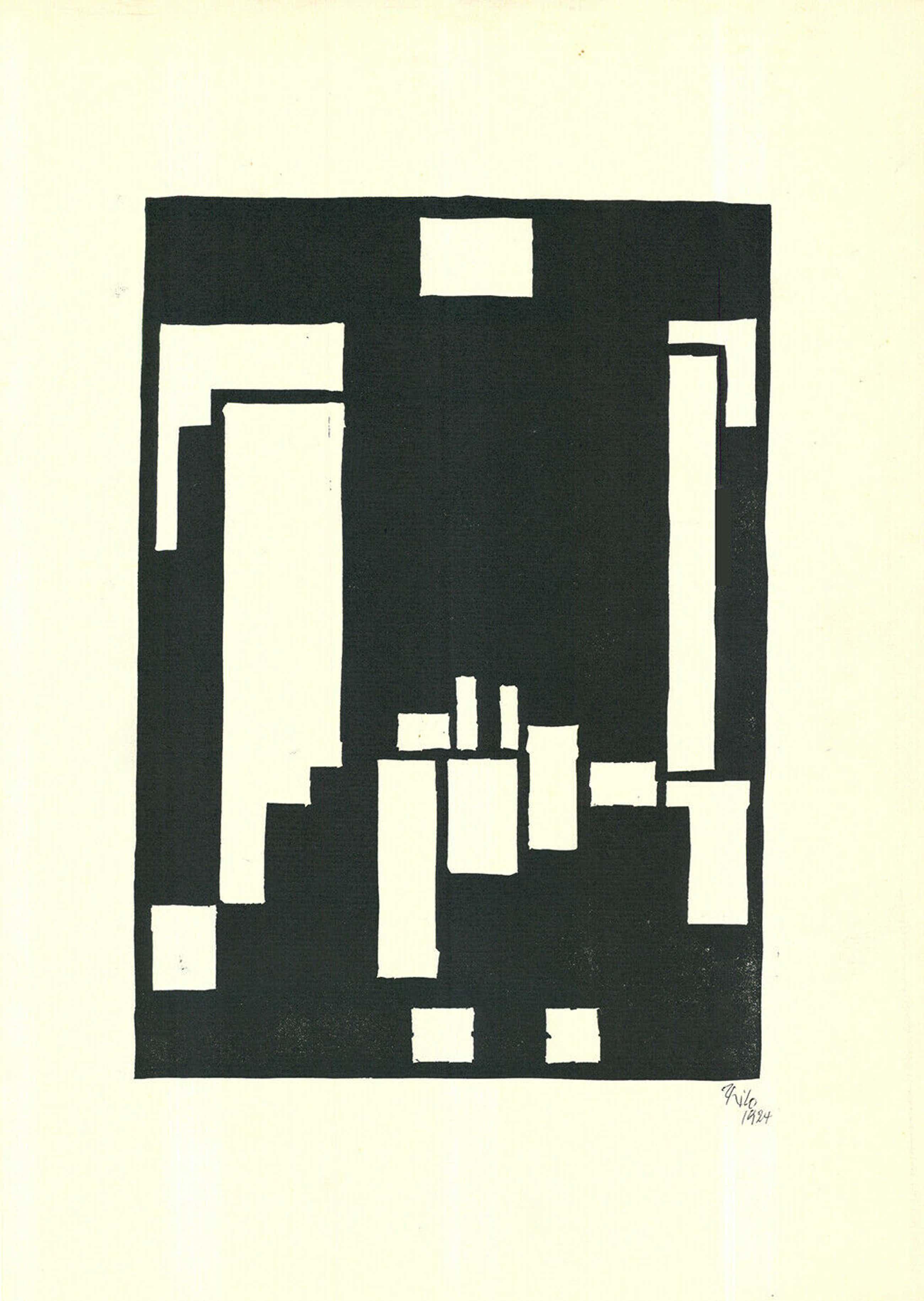 Thilo Maatsch - Geometrische Compositie kopen? Bied vanaf 42!
