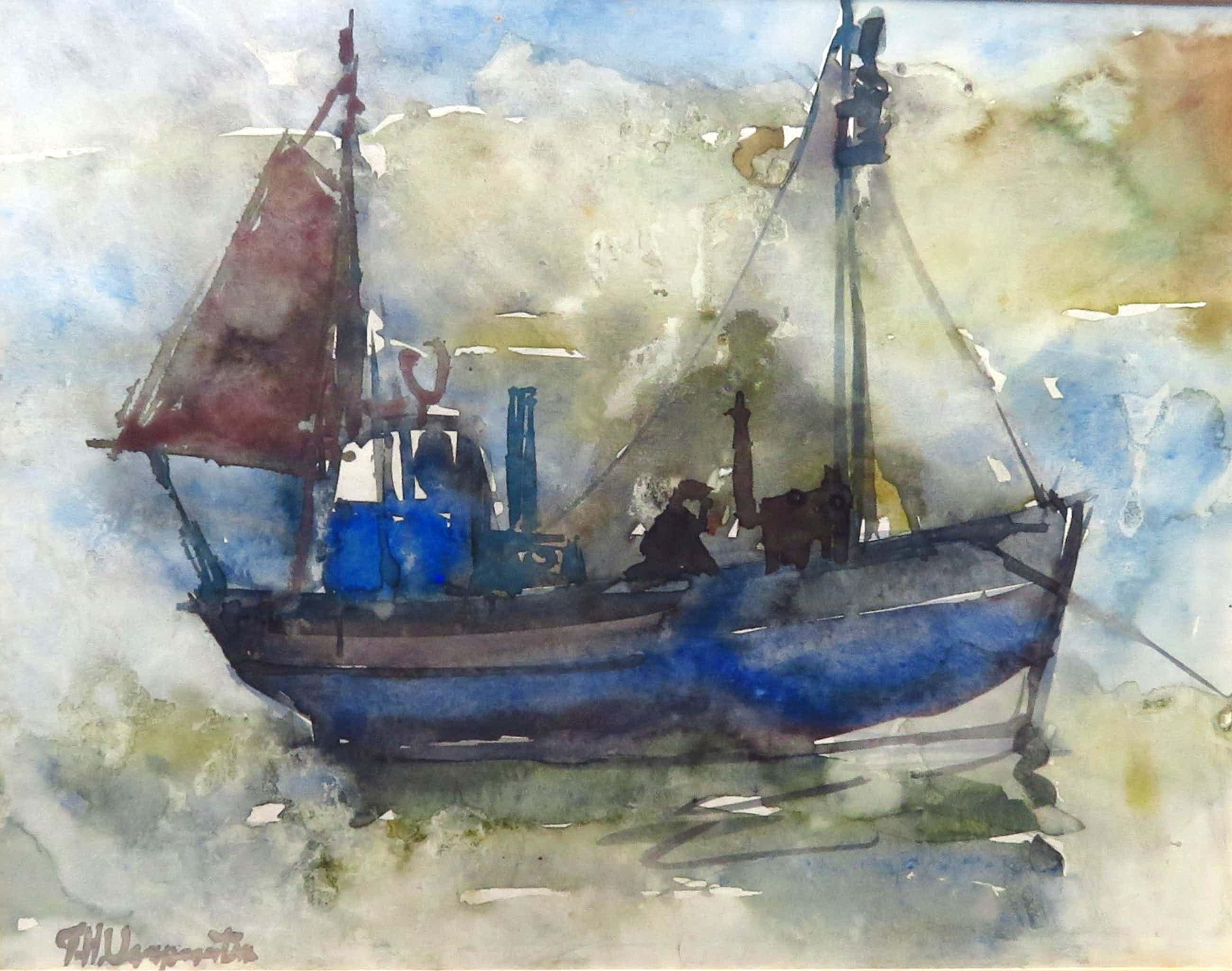 Frans Verpoorten - Vissersboot kopen? Bied vanaf 75!