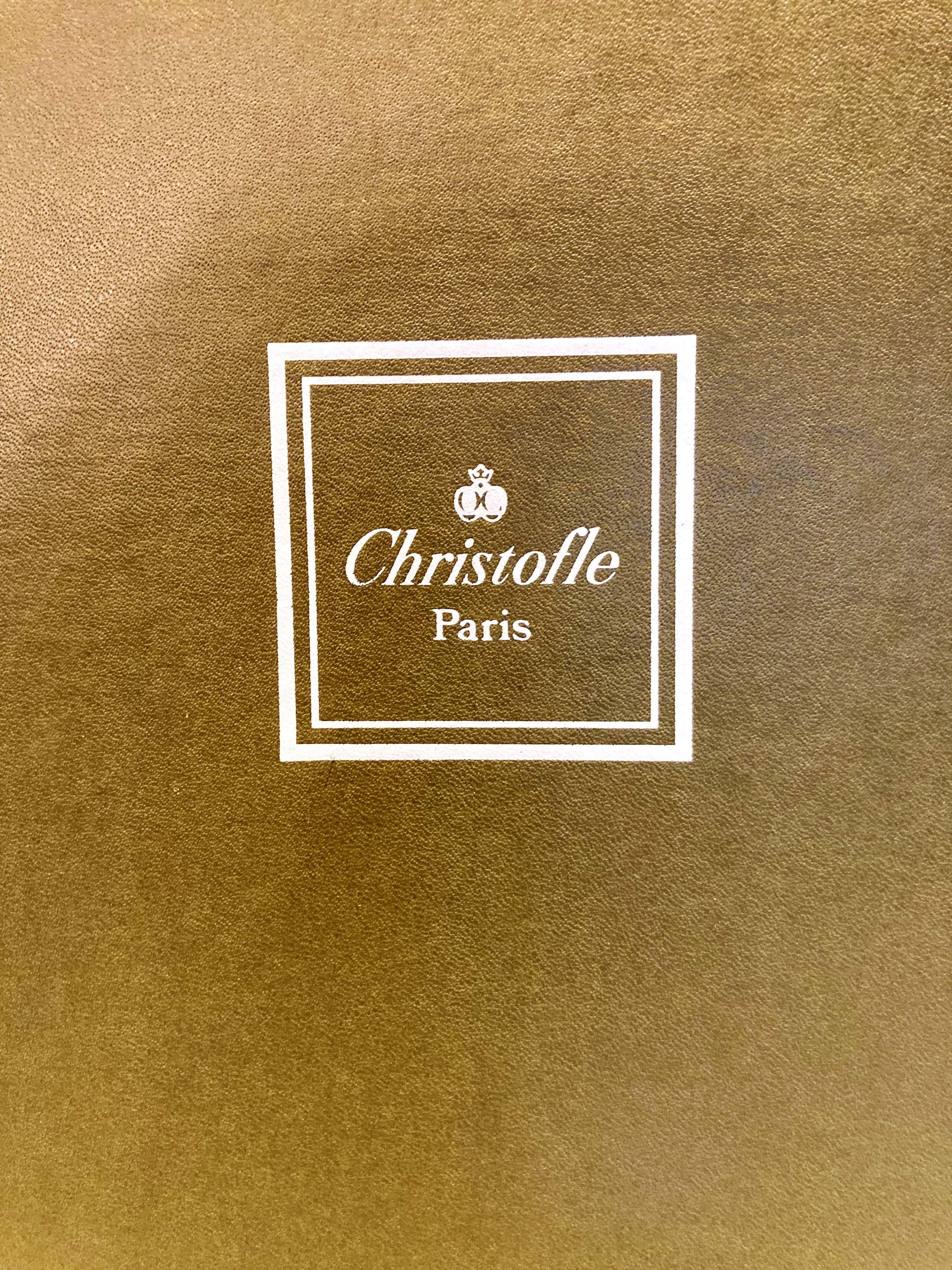 Maison Christofle - 6 assiettes de présentation en porcelaine gris marbre Spécial Lave-vaisselle kopen? Bied vanaf 200!