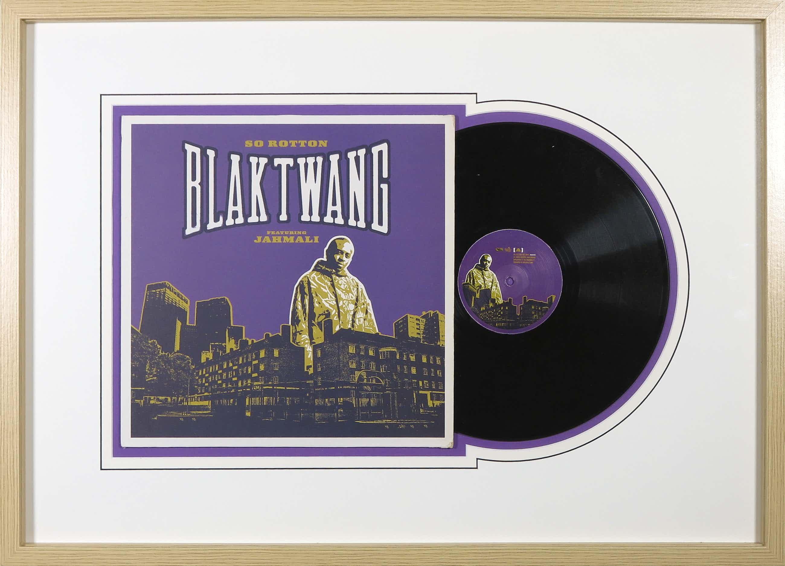 Banksy - LP-hoes, Blaktwang ft. Jahmali: So Rotton - Ingelijst kopen? Bied vanaf 150!