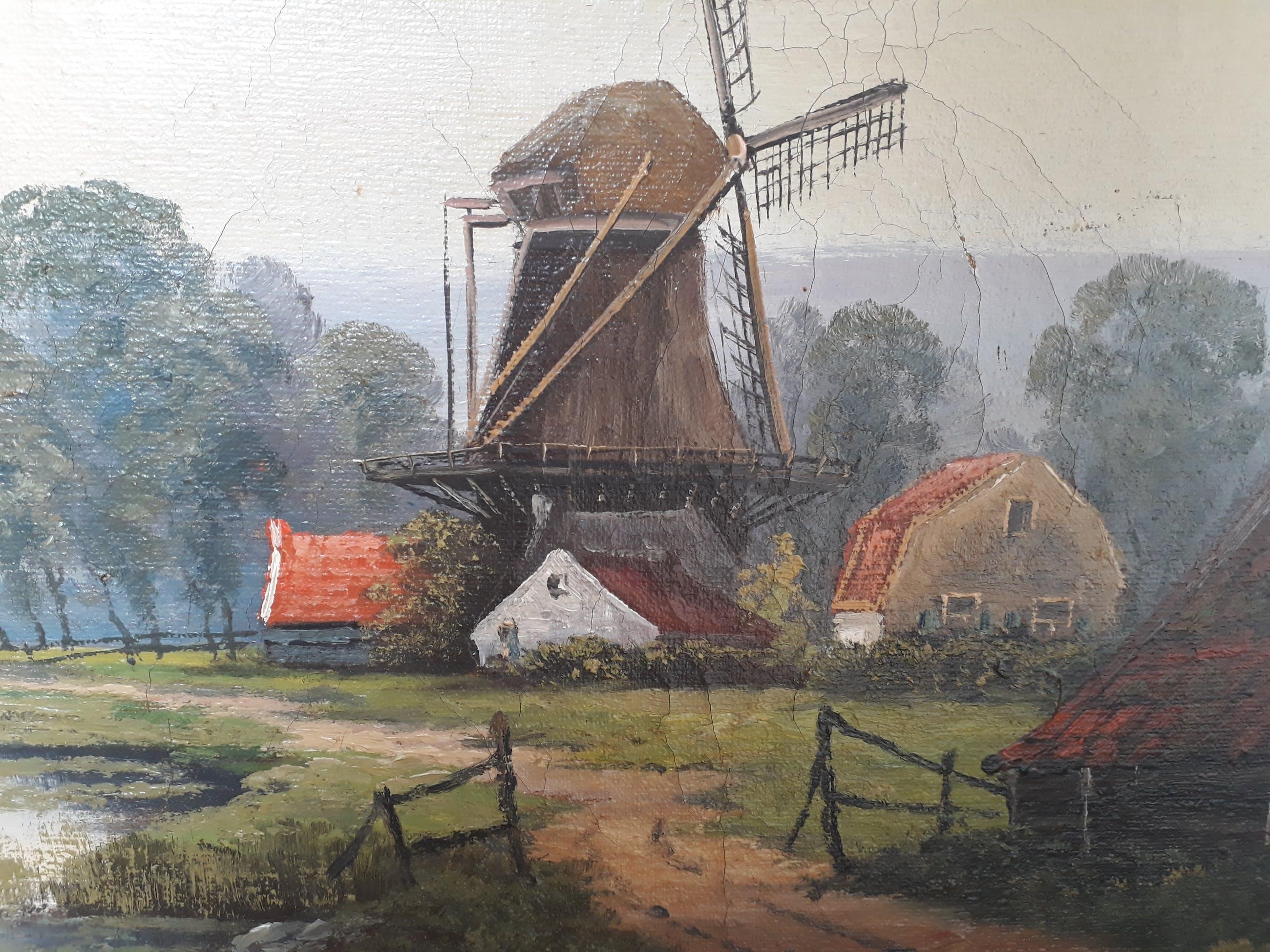 Alexander Cornelis Sleeswijk - Wayerlandschap kopen? Bied vanaf 75!